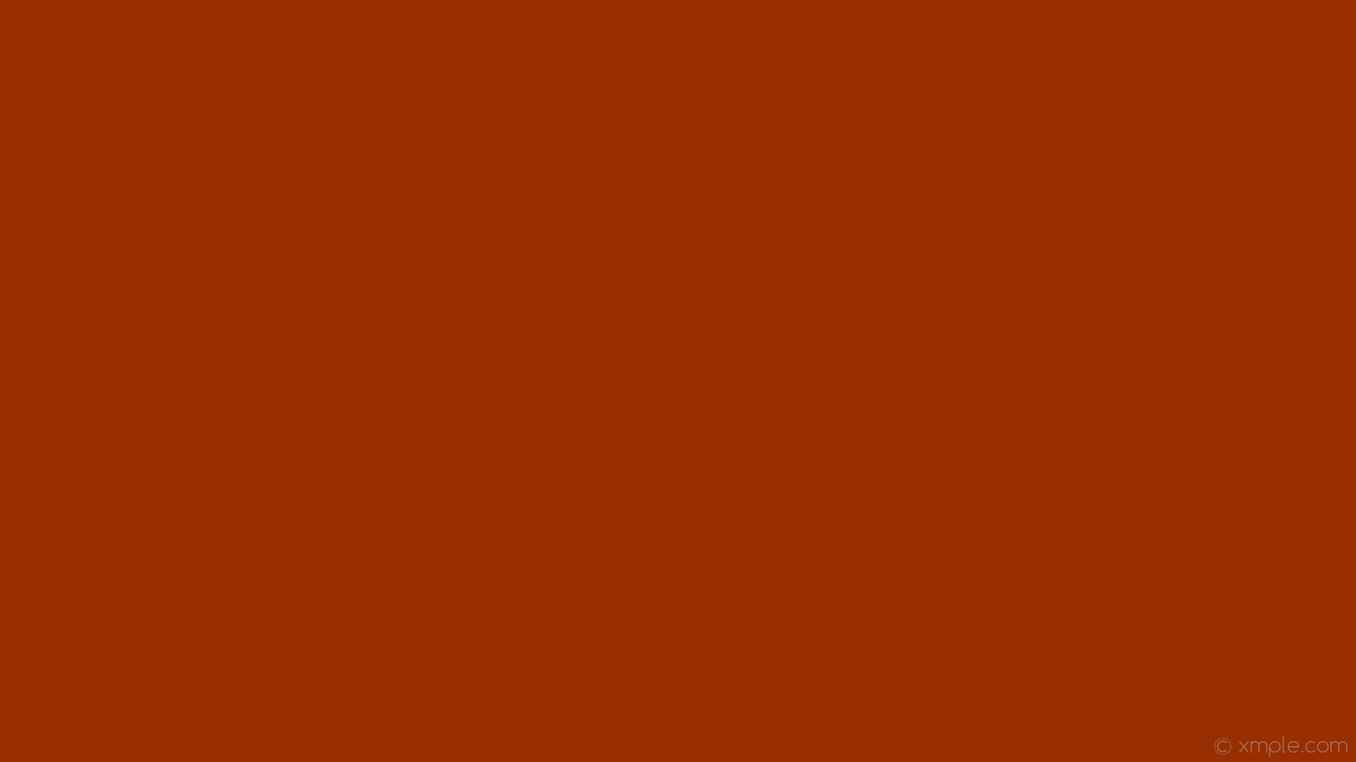 1920x1080 wallpaper orange plain one colour solid color single #992e01