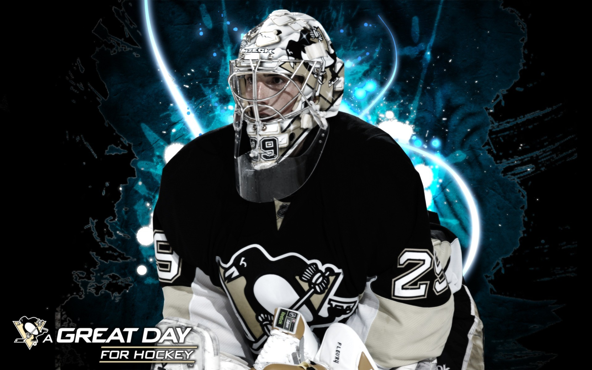 1920x1200 Marc Andre Fleury Pittsburgh Penguins Wallpaper - 178871