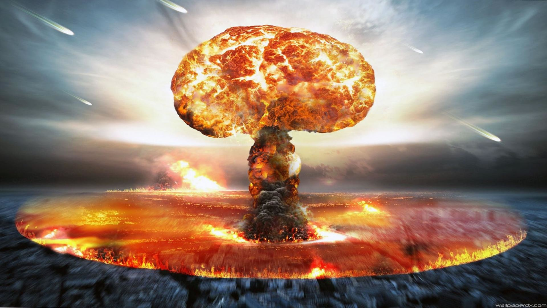 Hd Nuclear Explosion Wallpaper 76 Images