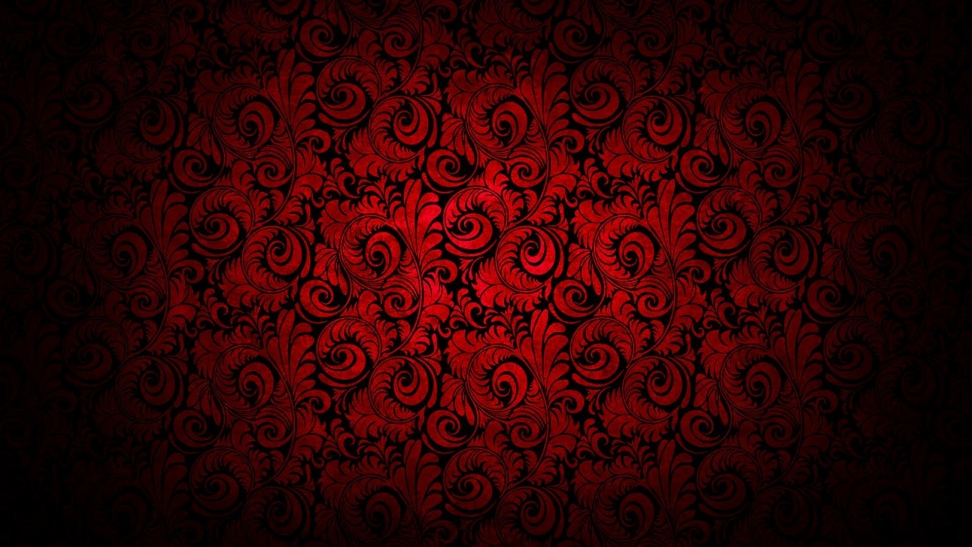 1920x1080 Wallpaper Red Black Abstract