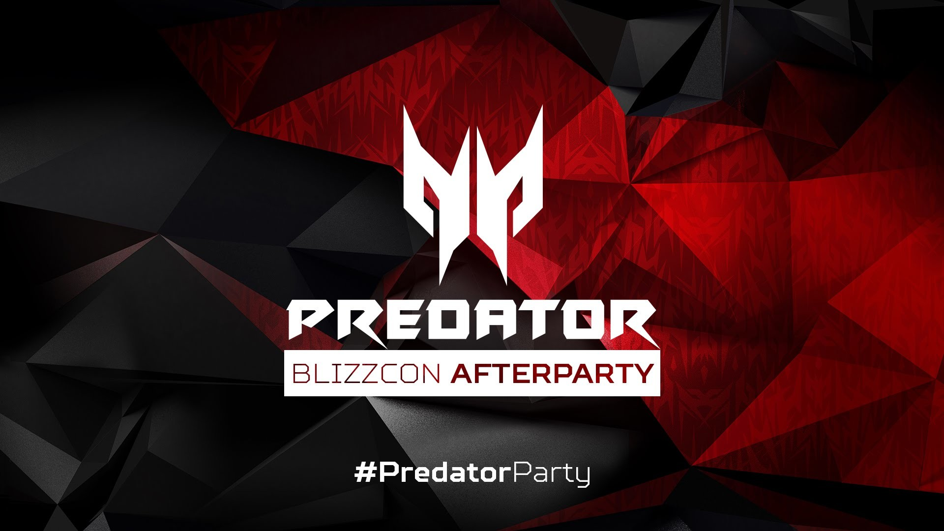 1920x1080 BlizzCon 2015 Acer Predator Afterparty #PredatorParty .