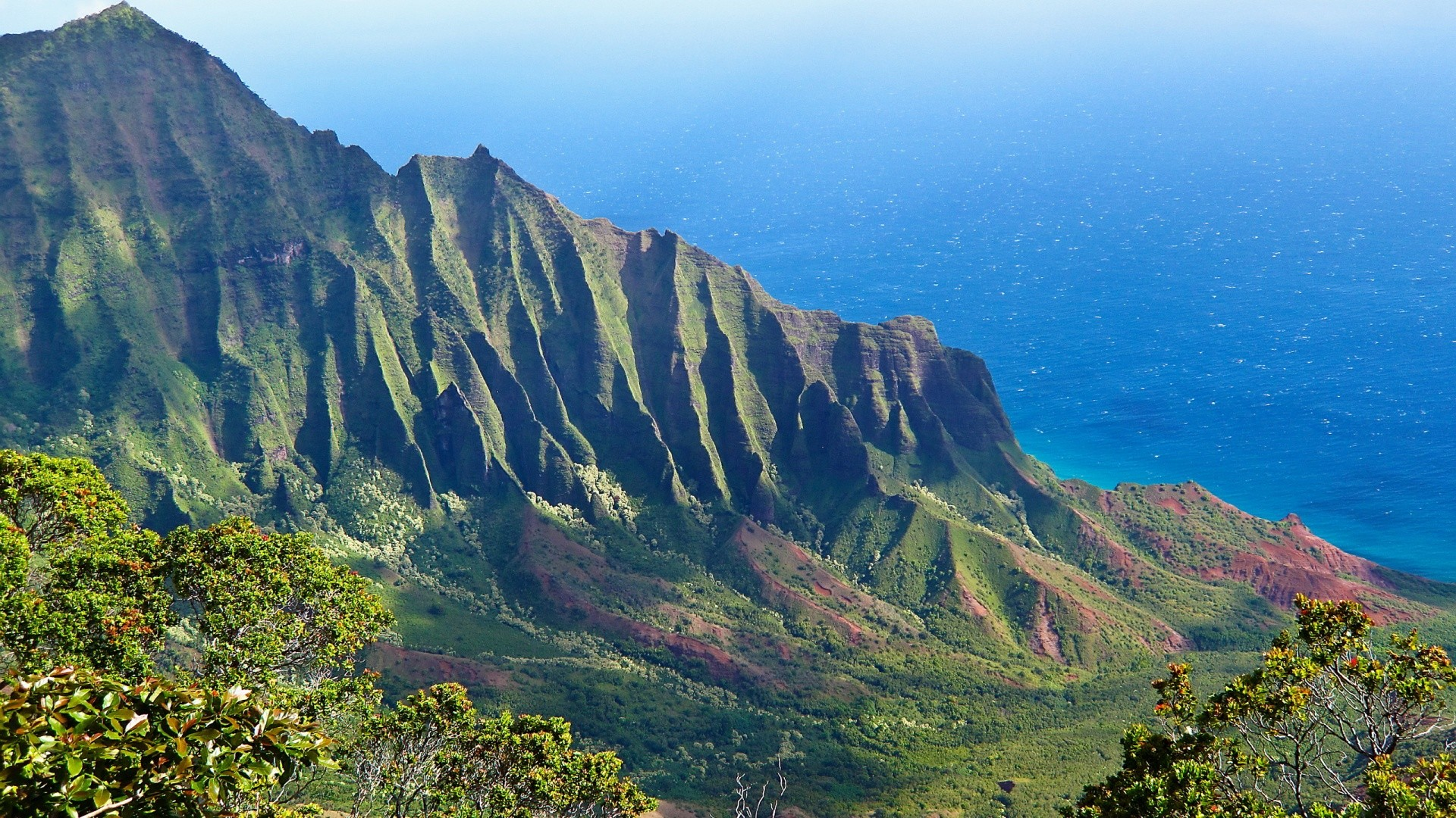 1920x1080 kalalau valley hawaii Wallpapers HD Pictures