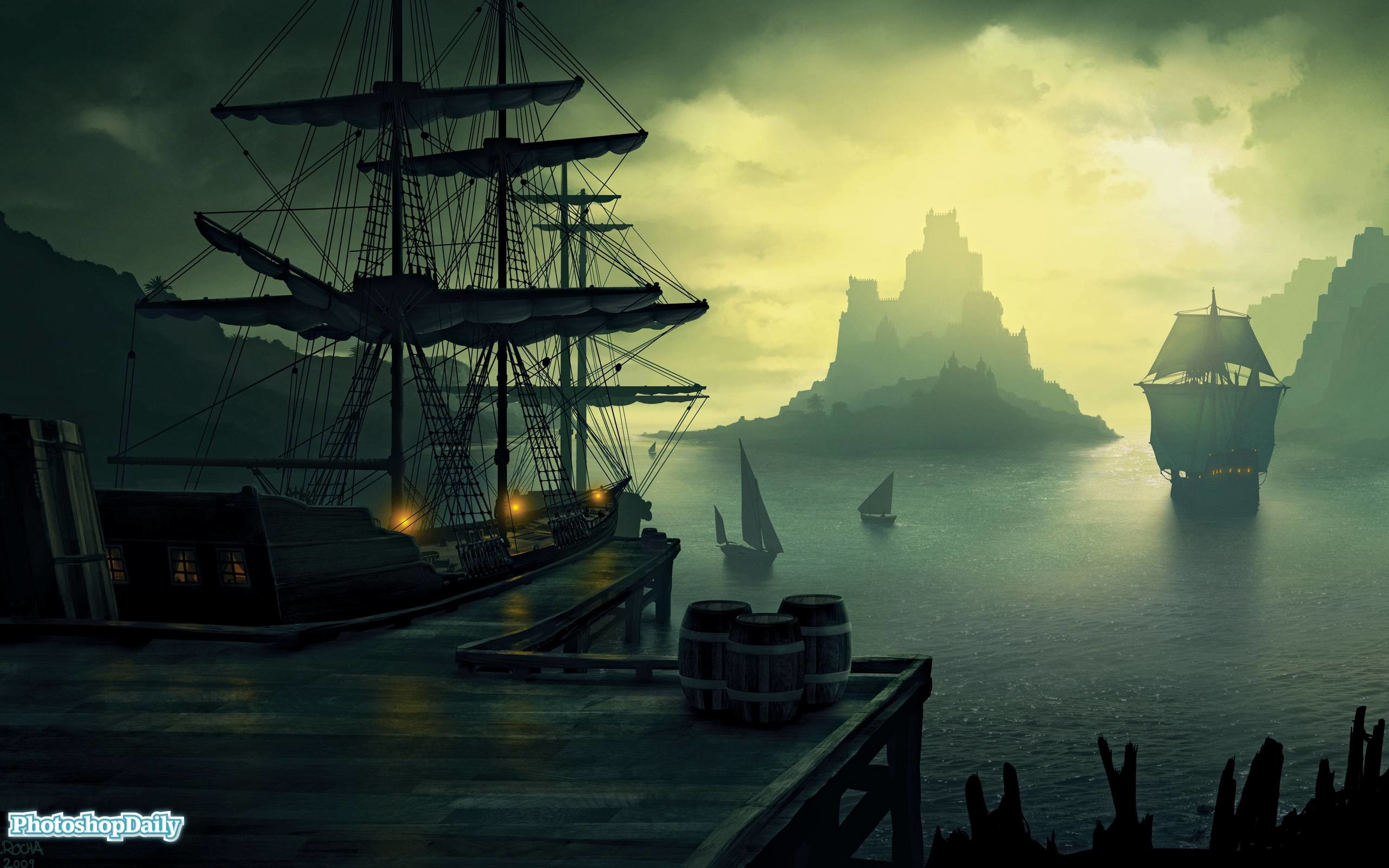 2560x1600 Pirate Ship Wallpapers and Background