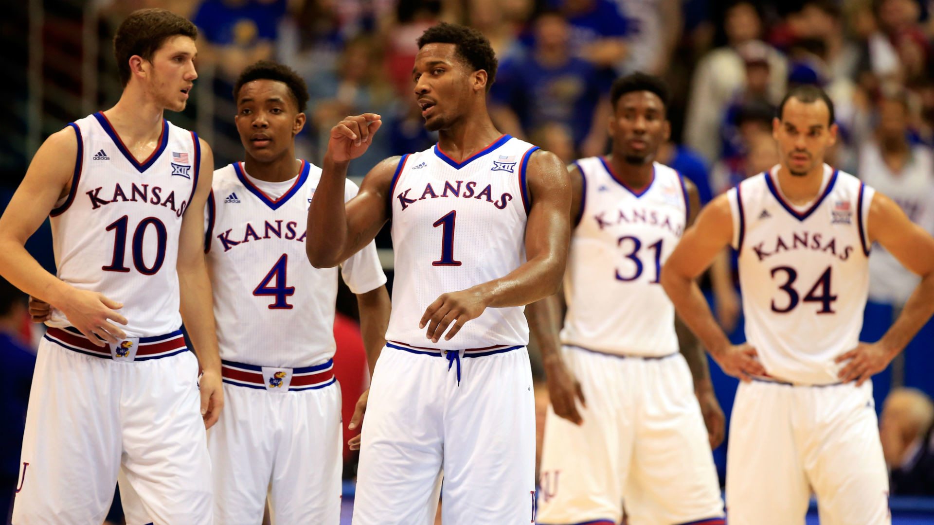 1920x1080 Kansas secures share of 12th consecutive Big 12 title | NCAA Basketball |  Sporting News