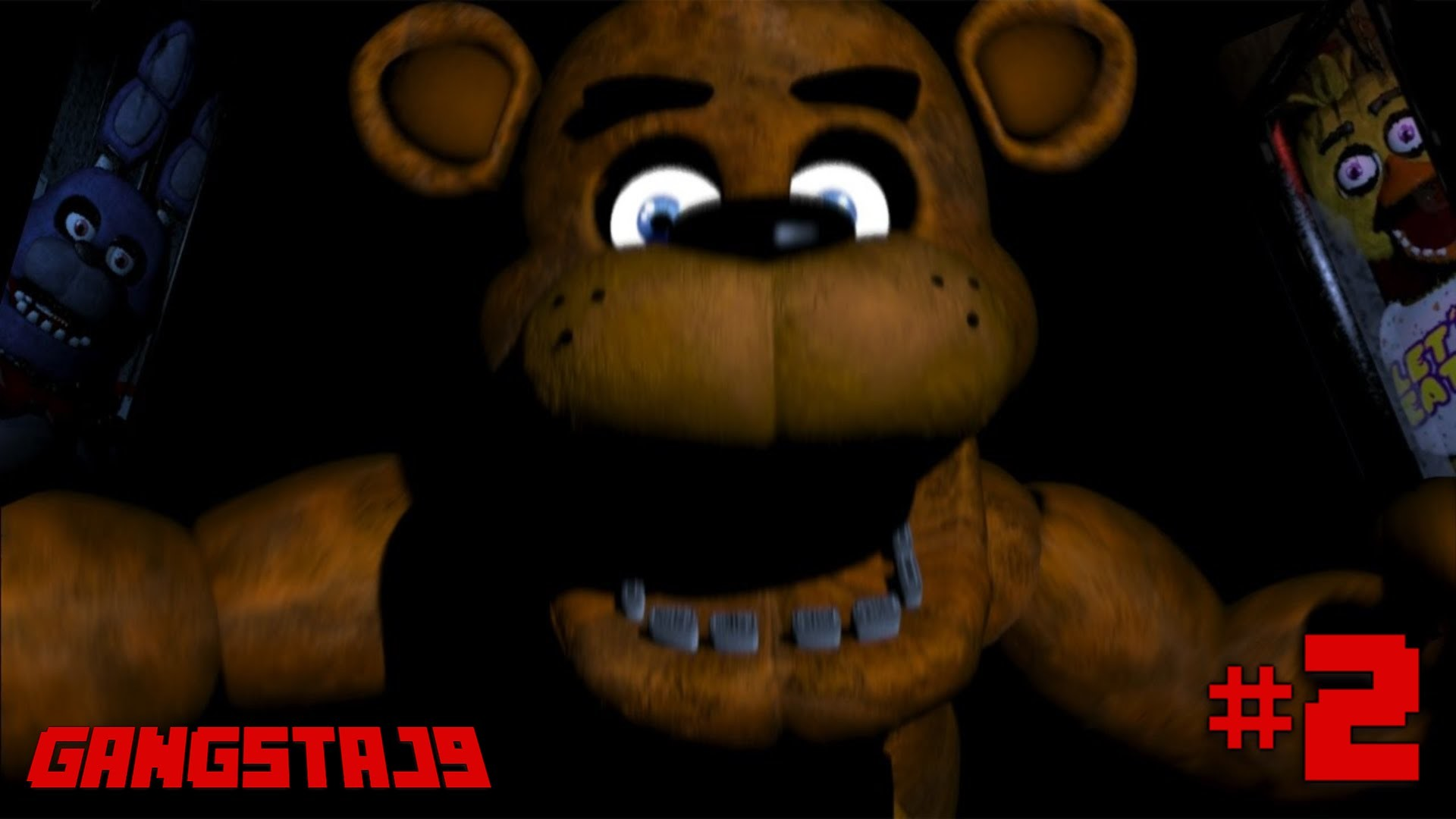 1920x1080 Five Nights at Freddy's #2 - FREDDY DOESN'T MOVE?!
