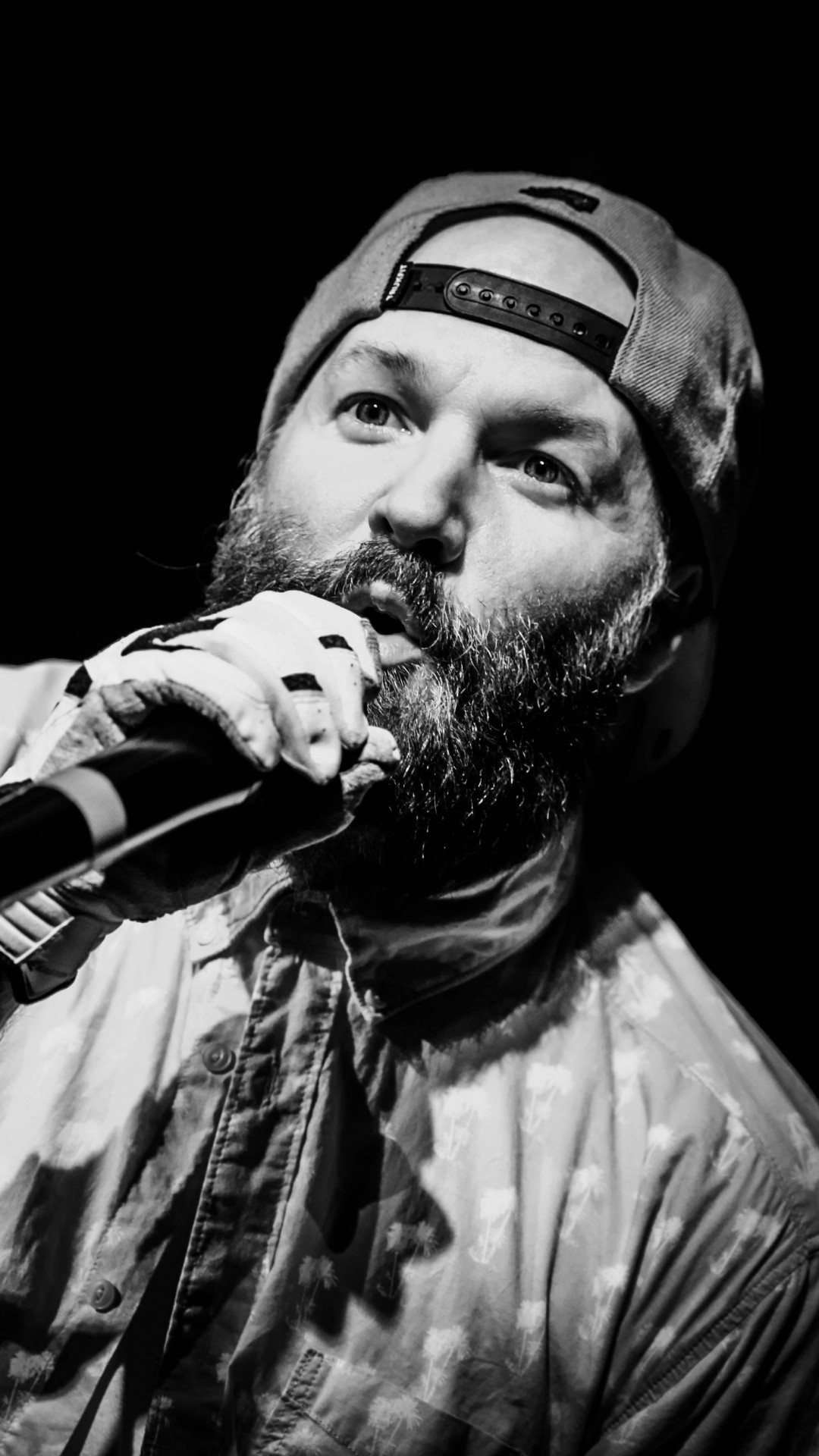 1080x1920 Fred Durst Limp Bizkit Music Rapcore Black White #iPhone #6 #plus #Wallpaper