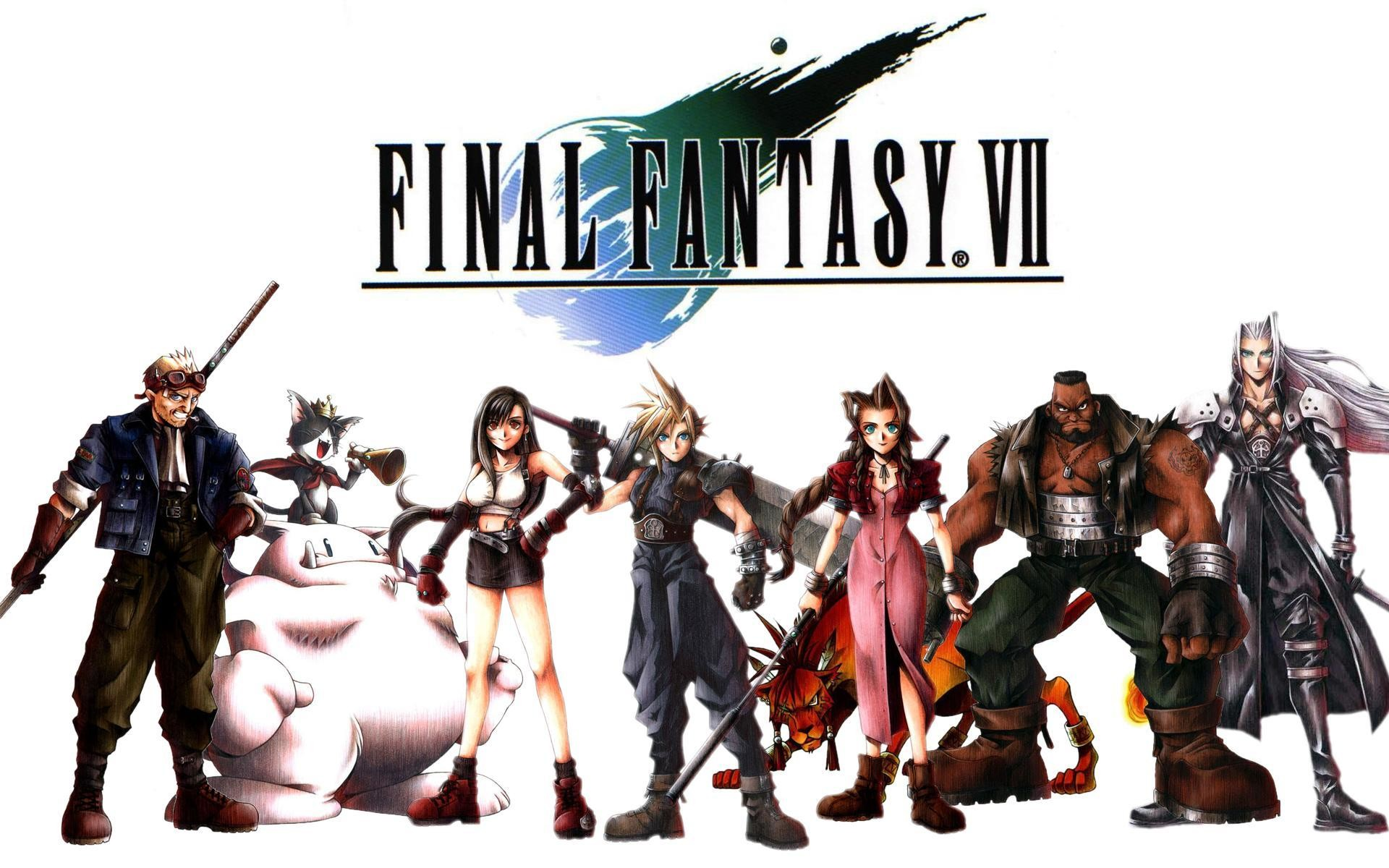 1920x1200 Wallpapers For > Final Fantasy 7 Ps1 Wallpaper
