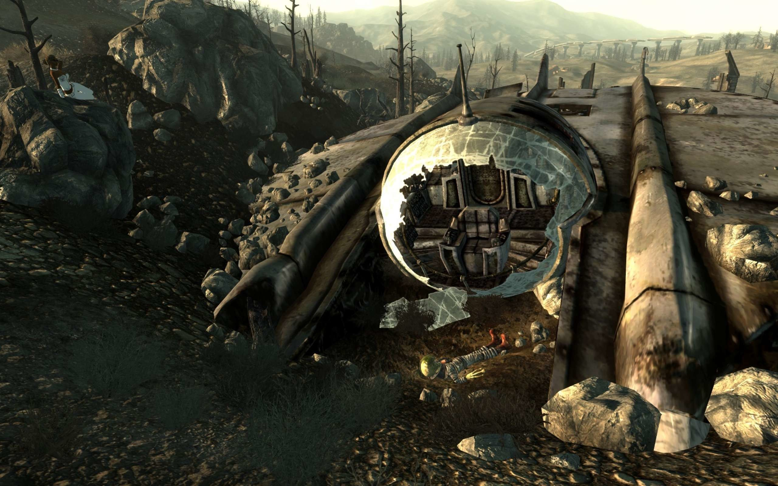 2560x1600 Fallout Alien Game Wallpaper HD Widescreen Archives - HD Wallpapers .