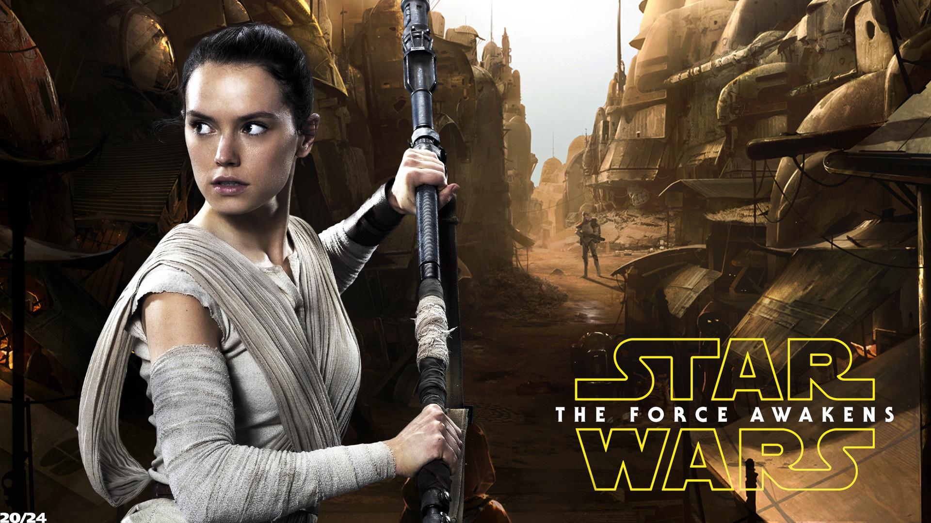 Daisy Ridley Star Wars Wallpaper: Rey Star Wars Wallpaper (74+ Images