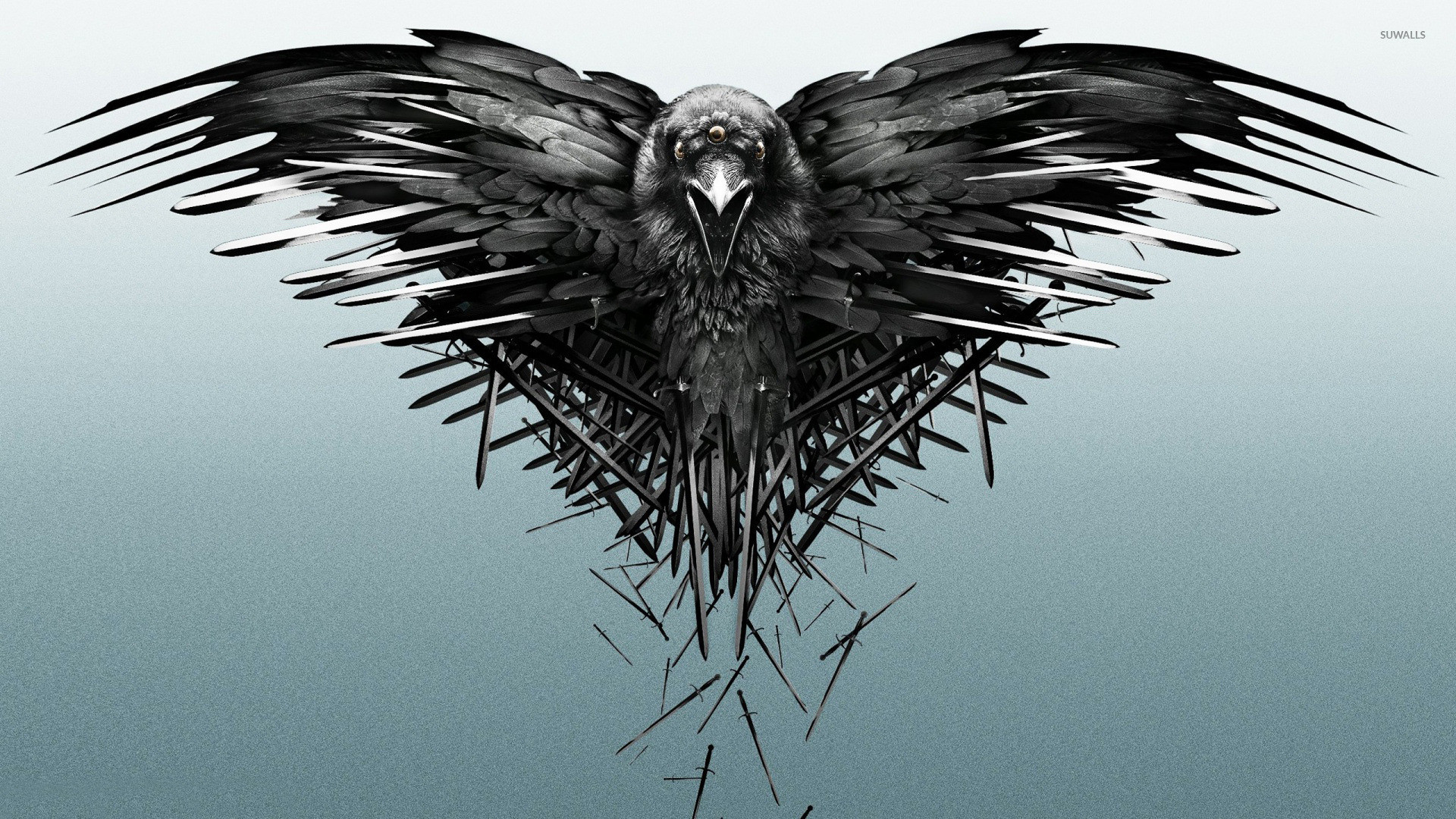 1920x1080 The three-eyed raven - Game of Thrones wallpaper  jpg