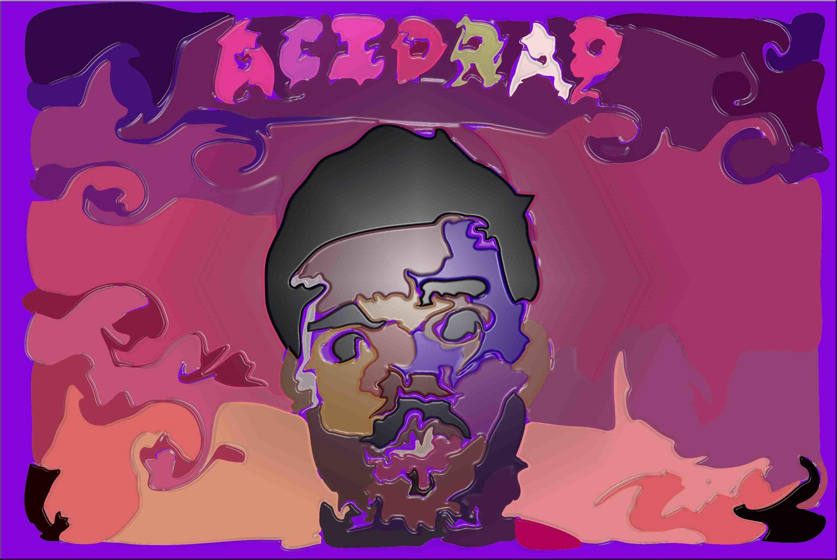 1920x1200 HD Acid Trip Park Wallpaper