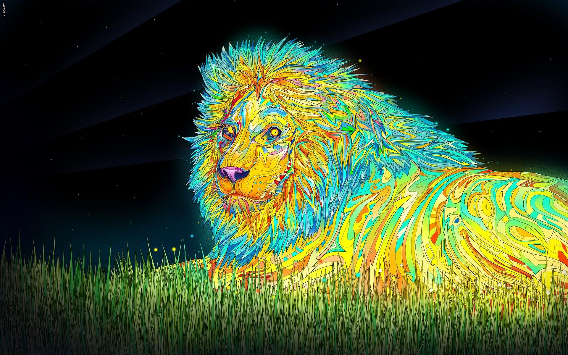Rainbow Lion Wallpaper (57+ images)