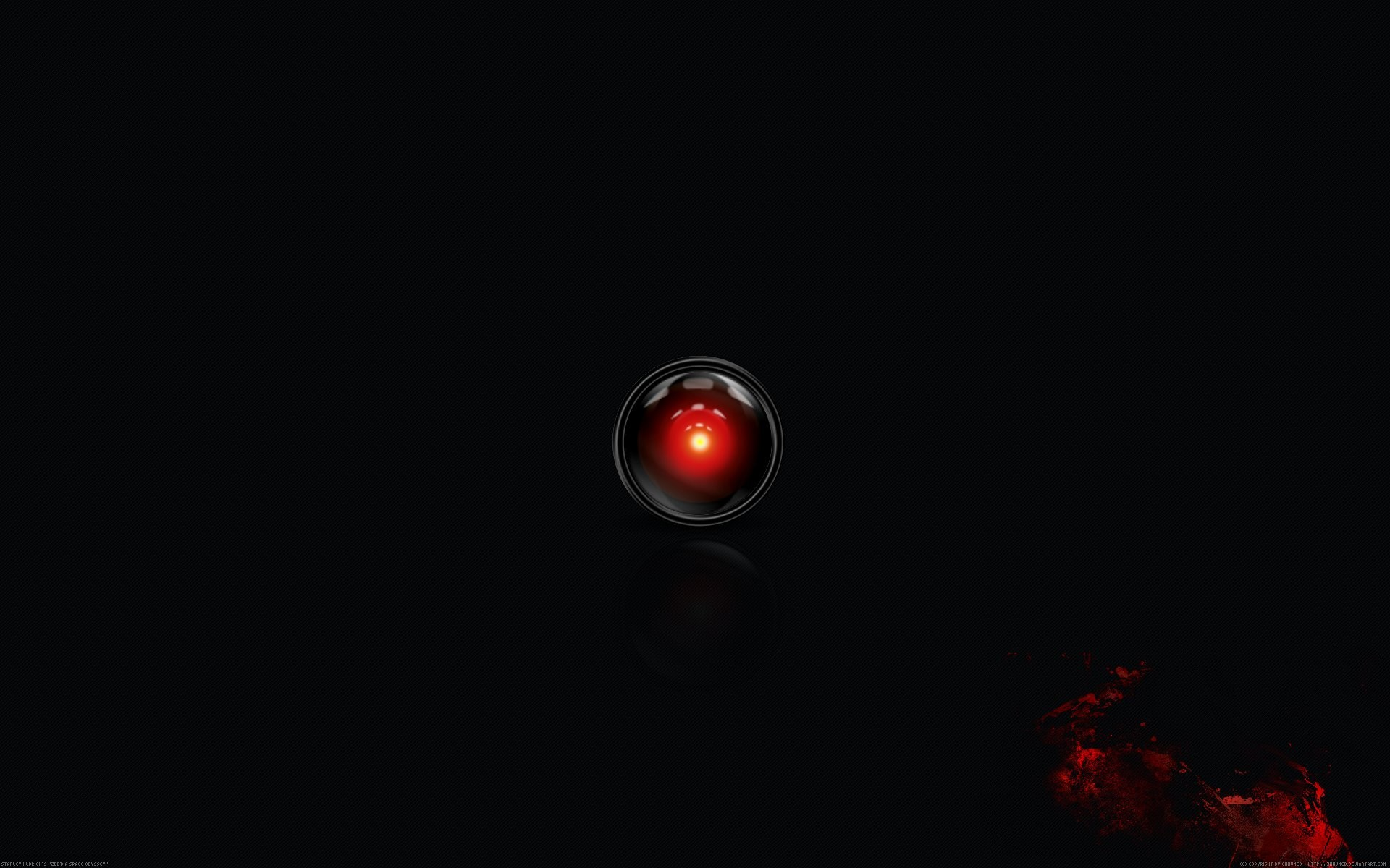 1920x1200 HAL9000_black_bloody by 3xhumed HAL9000_black_bloody ...