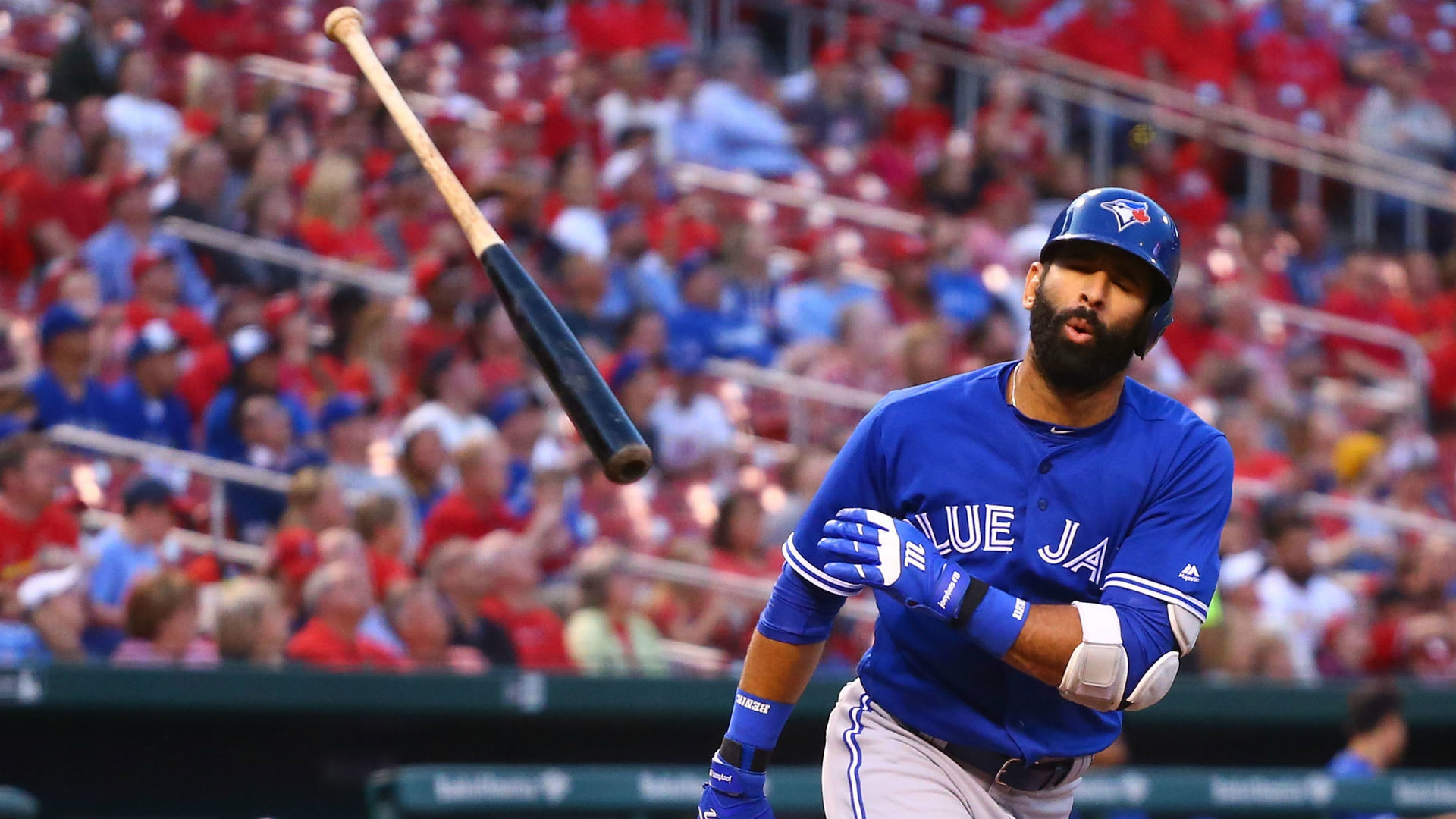 1920x1080 Jose Bautista's bat flip is the dumbest thing in baseball this week | MLB |  Sporting News