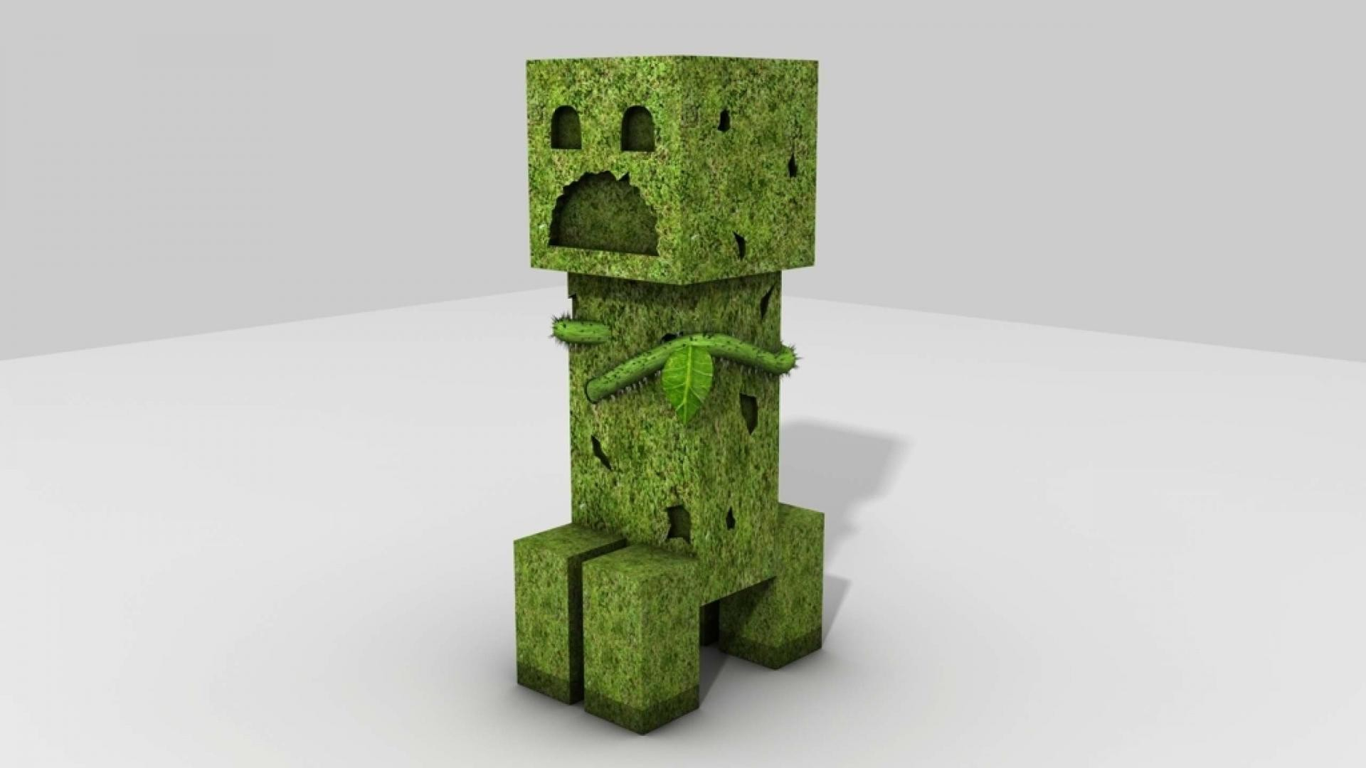 1920x1080 Creeper Minecraft Pictures HD Wallpaper