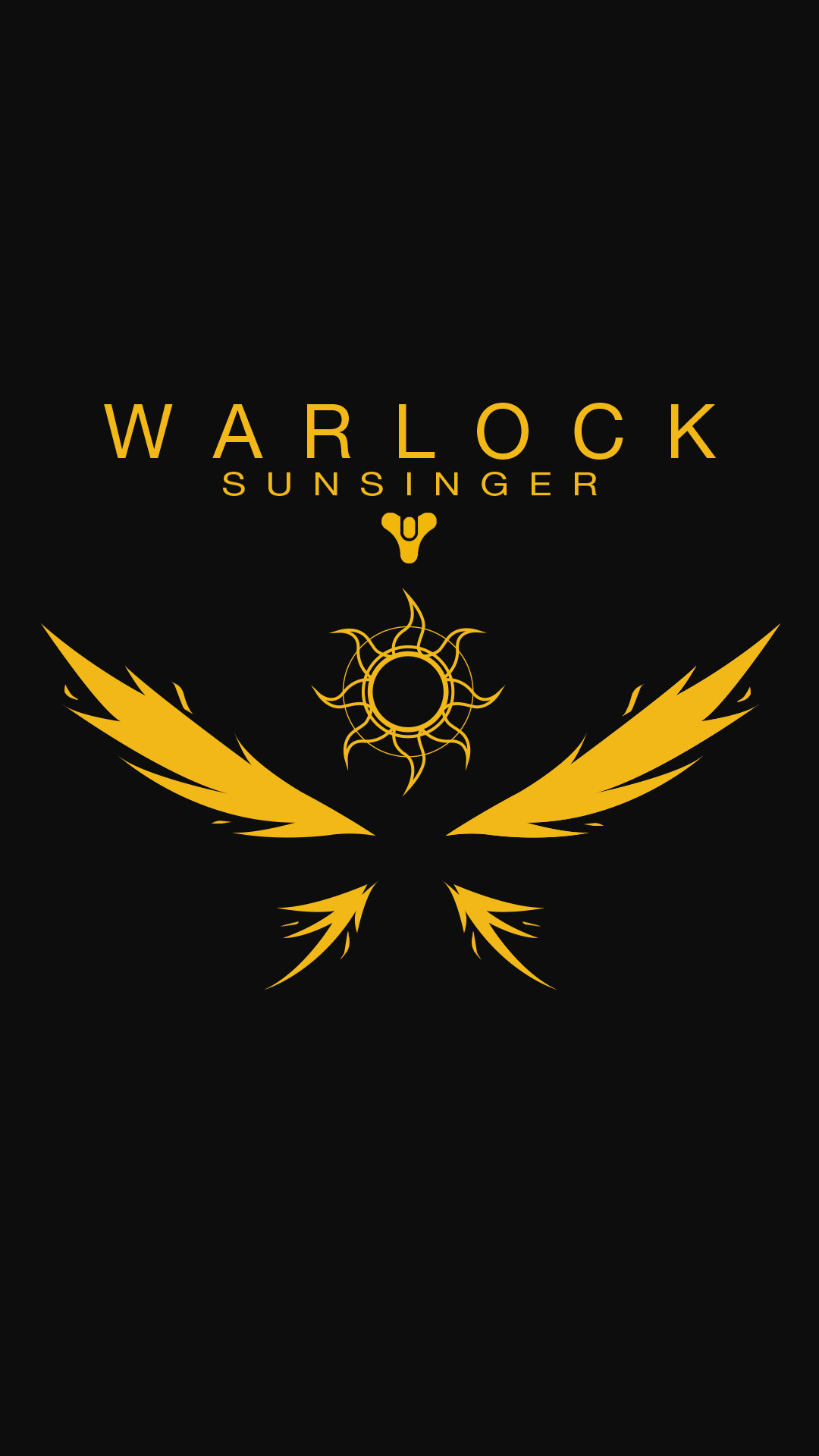 1080x1920 Destiny Warlock Sunsinger Wallpaper