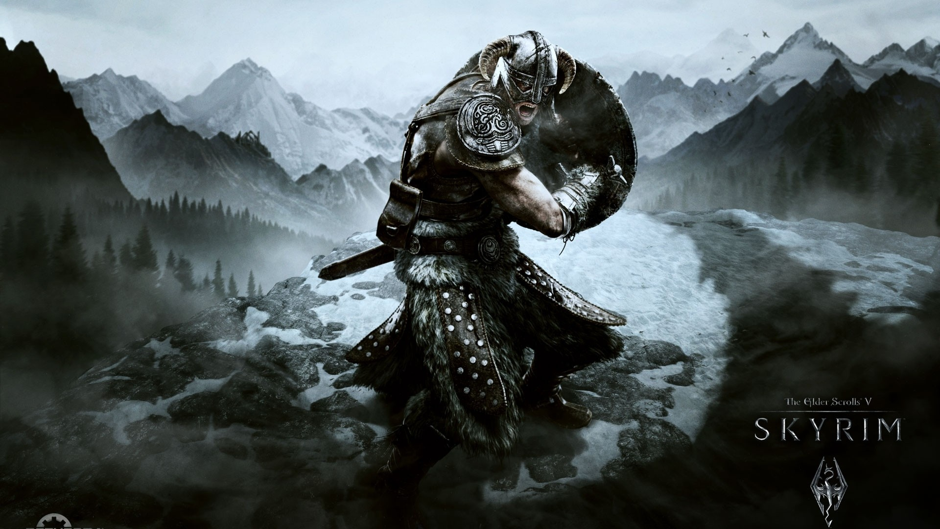 1920x1080 Preview wallpaper skyrim, dragonborn, the elder scrolls v skyrim, the elder  scrolls,
