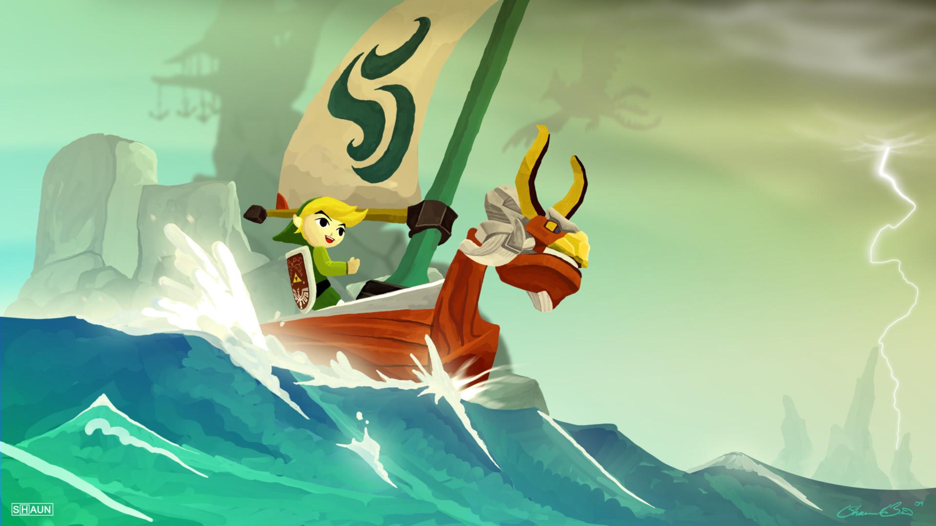 Zelda Wind Waker Hd Wallpaper 89 Images