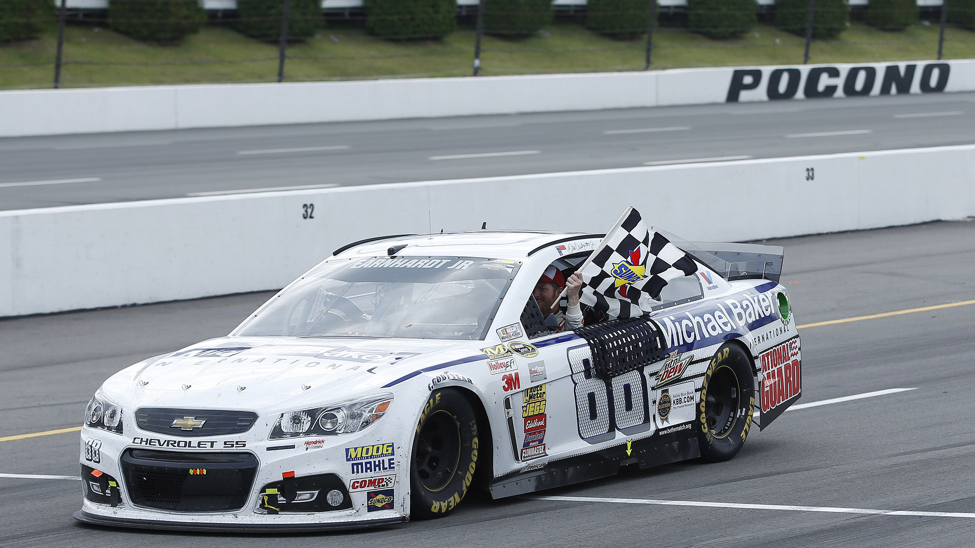 1920x1080 Dale Earnhardt Jr. wins again, sweeps Cup races at Pocono | NASCAR |  Sporting News