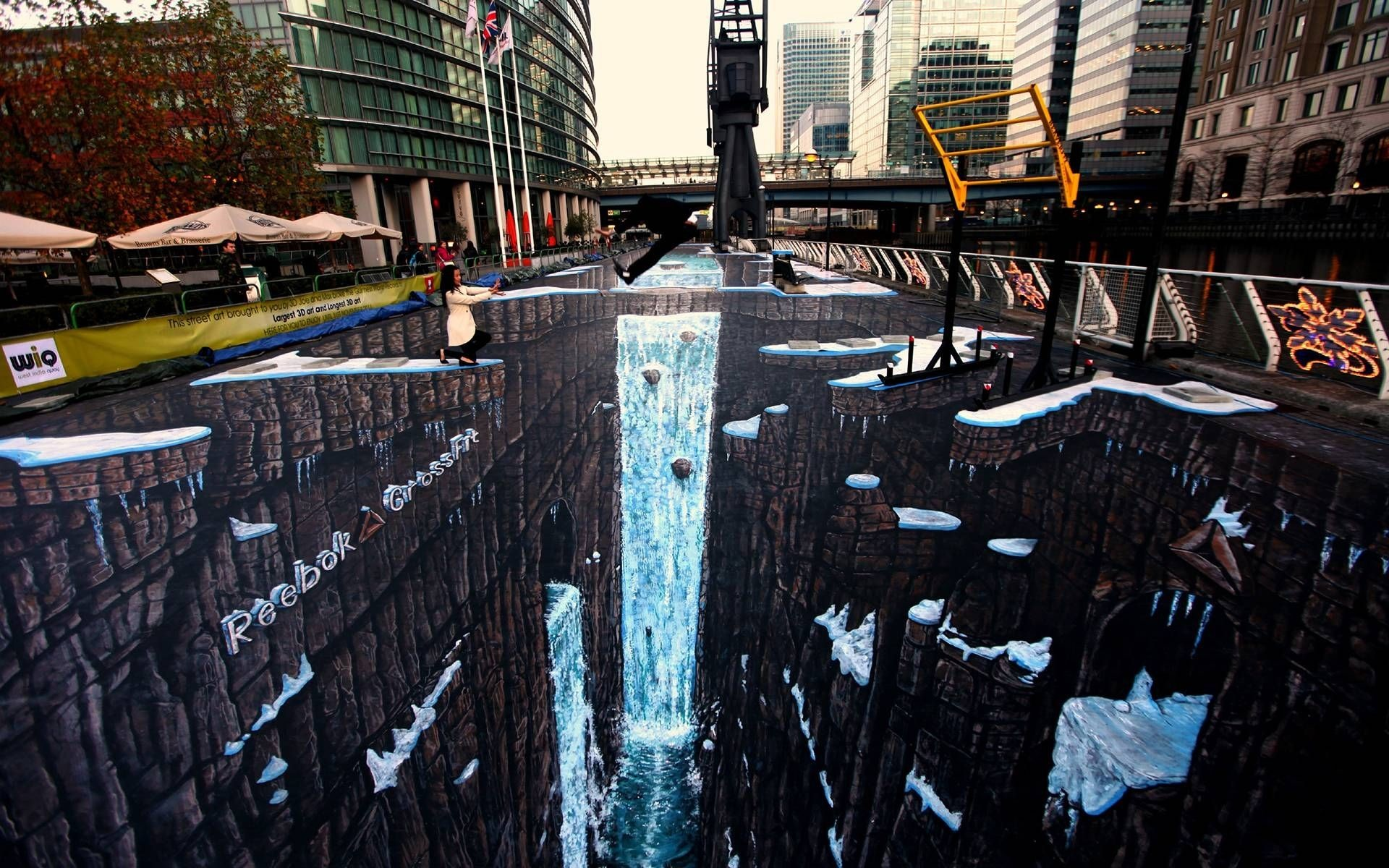 3d Street Art Wallpaper 50 Images