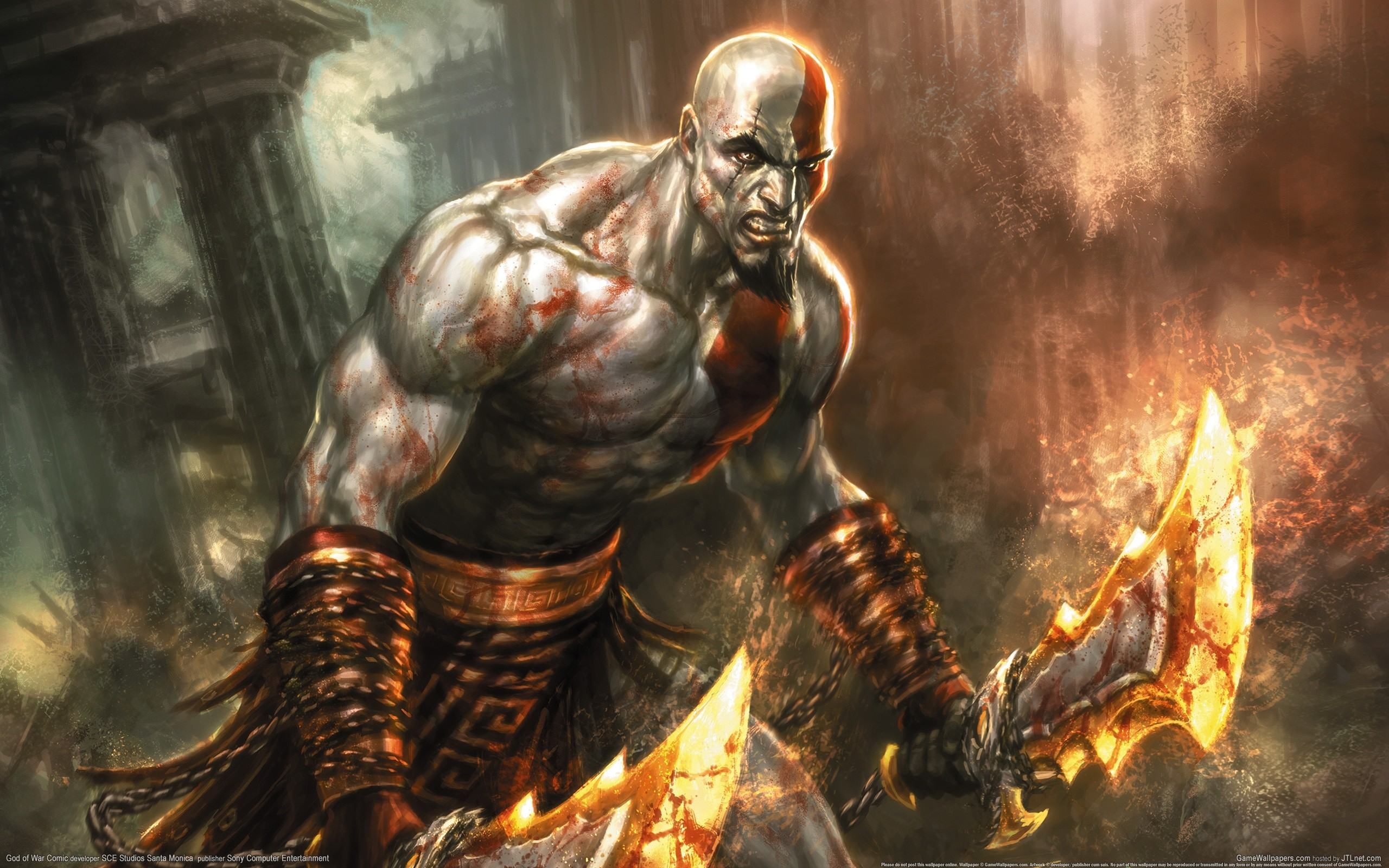 2560x1600 God Of War HD Wallpapers Backgrounds Wallpaper