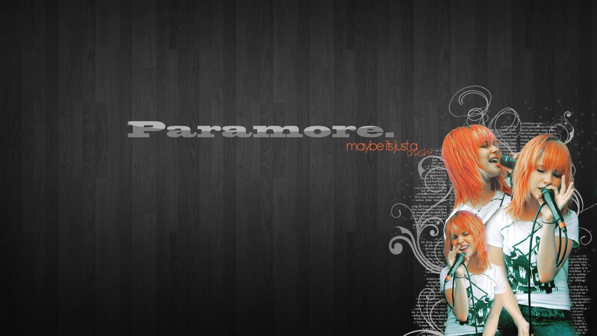1920x1080 paramore, background, name