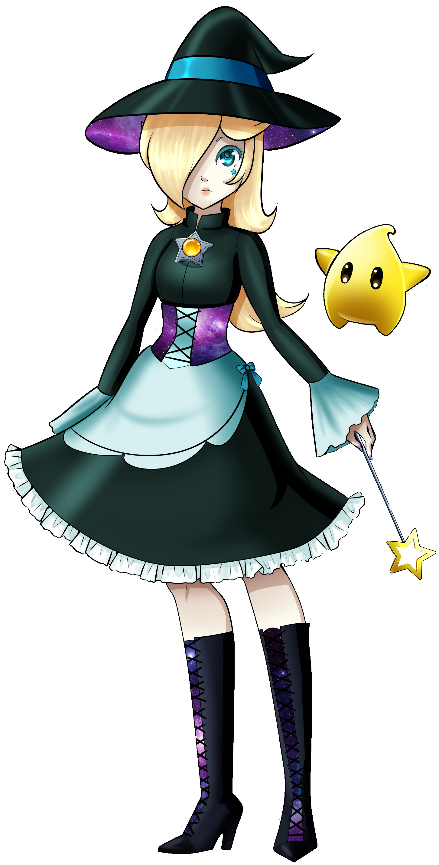 1452x2860 Princess Rosalina SSB Laptop Wallpaper by MajorLink on DeviantArt
