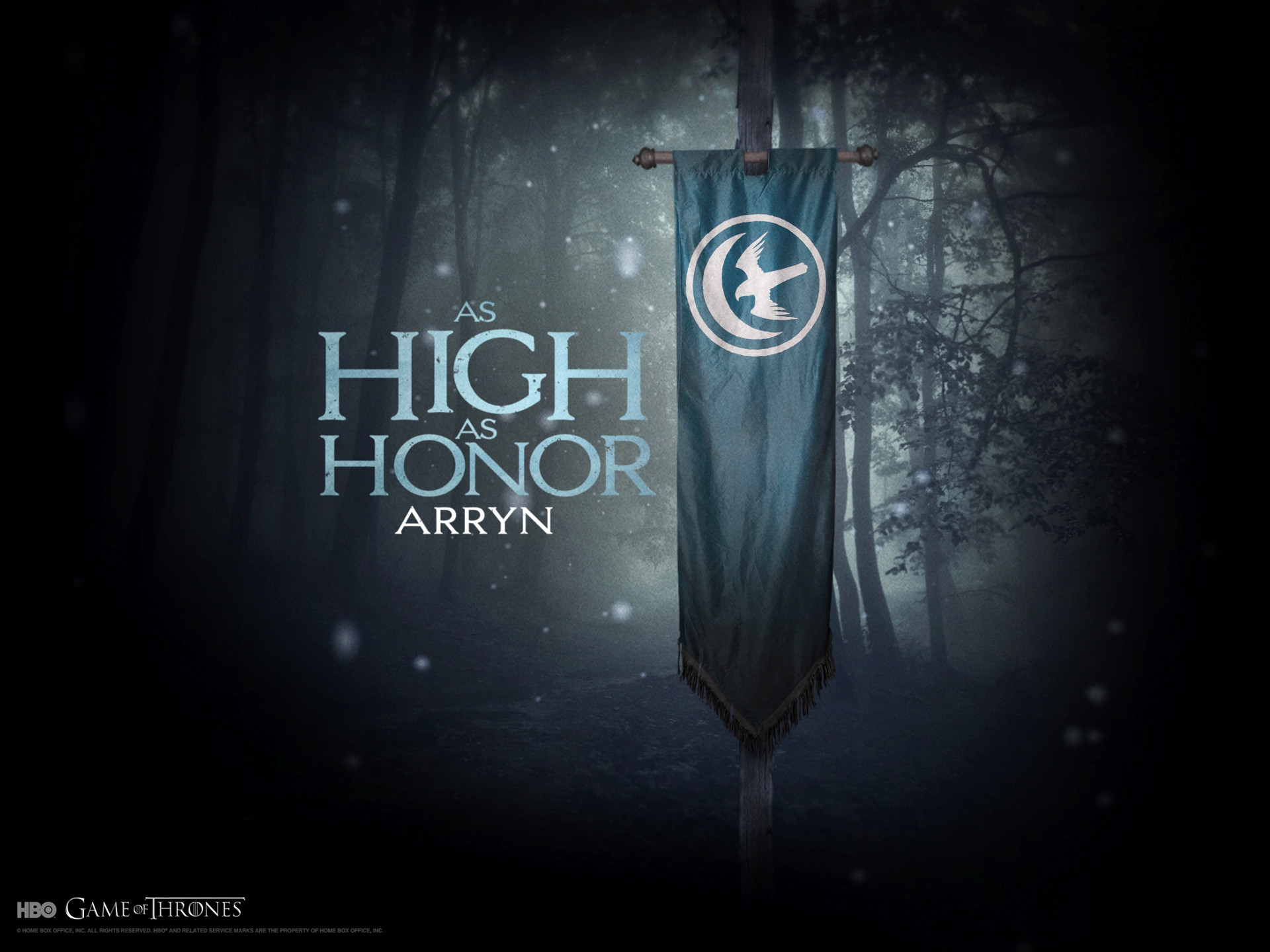 1920x1440 A Song of Ice and Fire Game of Thrones House Arryn TV series banner  wallpaper ( / Wallbase.