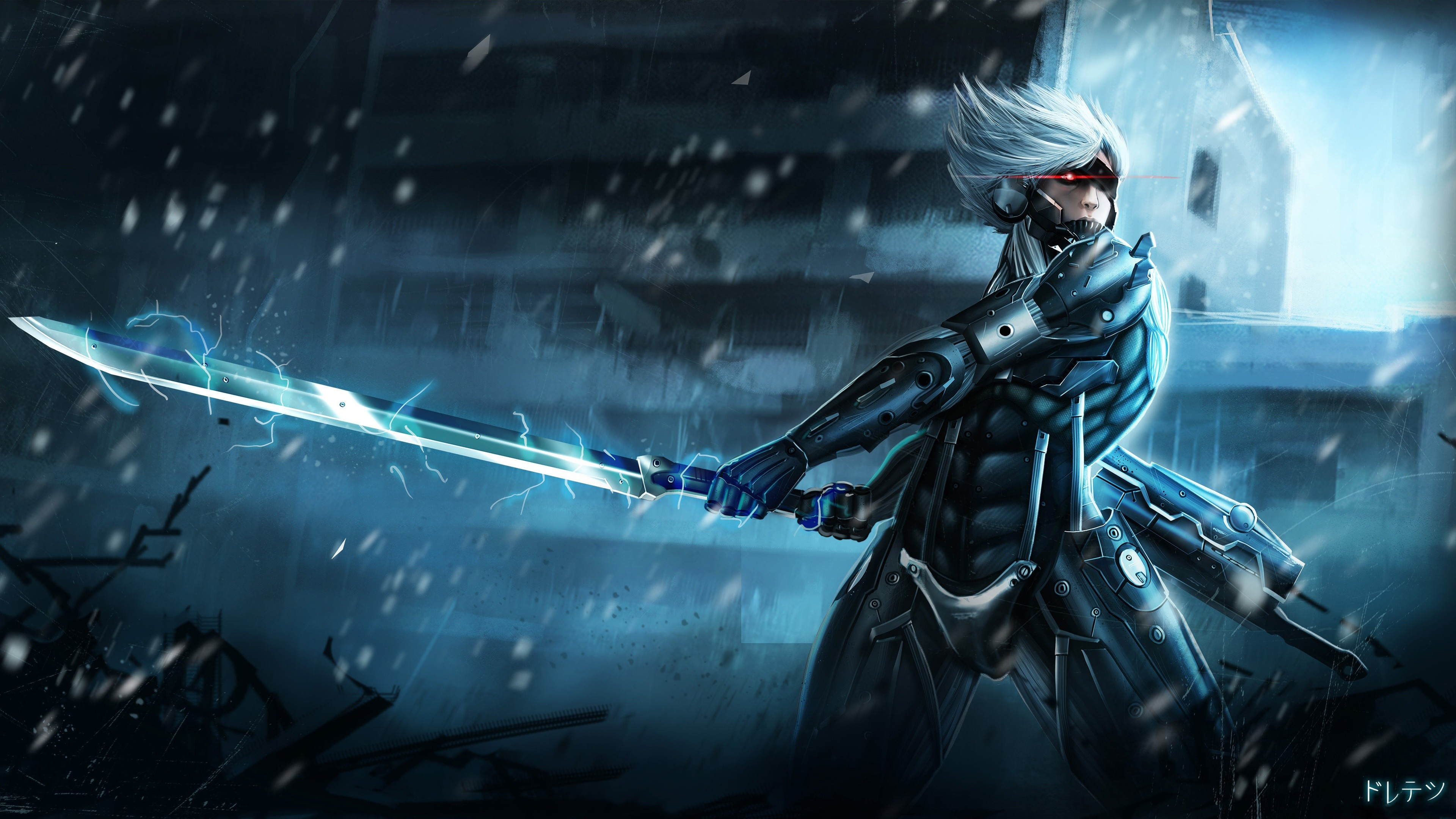 3840x2160 52 Metal Gear Rising: Revengeance HD Wallpapers | Backgrounds