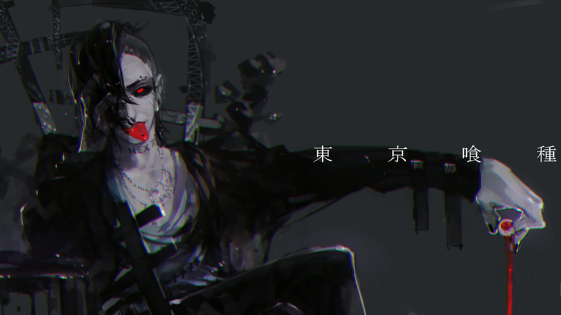 1920x1080 Uta Tokyo Ghoul Wallpaper