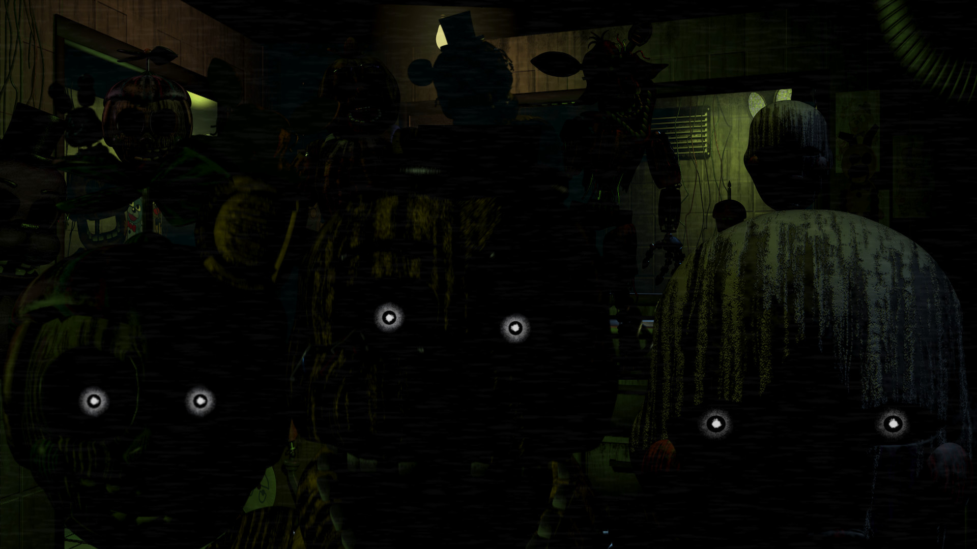 1920x1080 FNAF 2-4 Wallpapers!