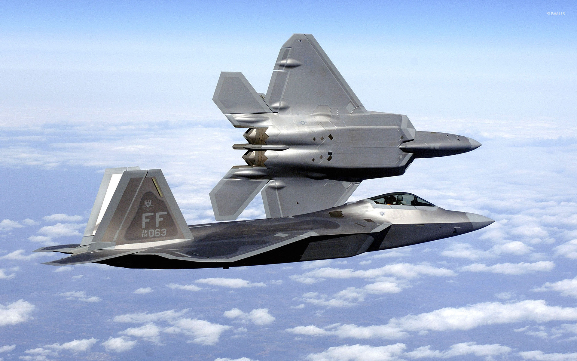 1920x1200 Lockheed Martin F-22 Raptor Wallpapers