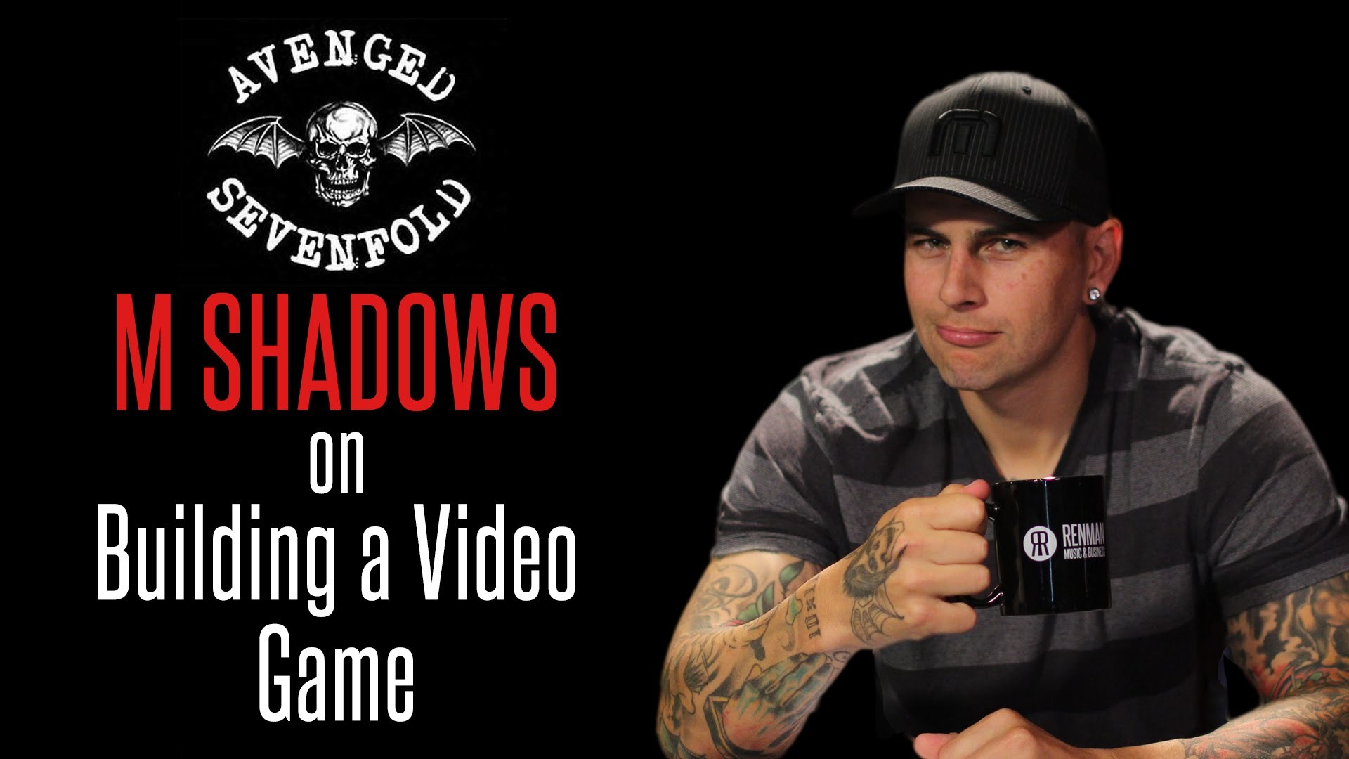 "1920x1080 M Shadows of Avenged Sevenfold on Building the Video Game ""Death Bat"" -  YouTube"