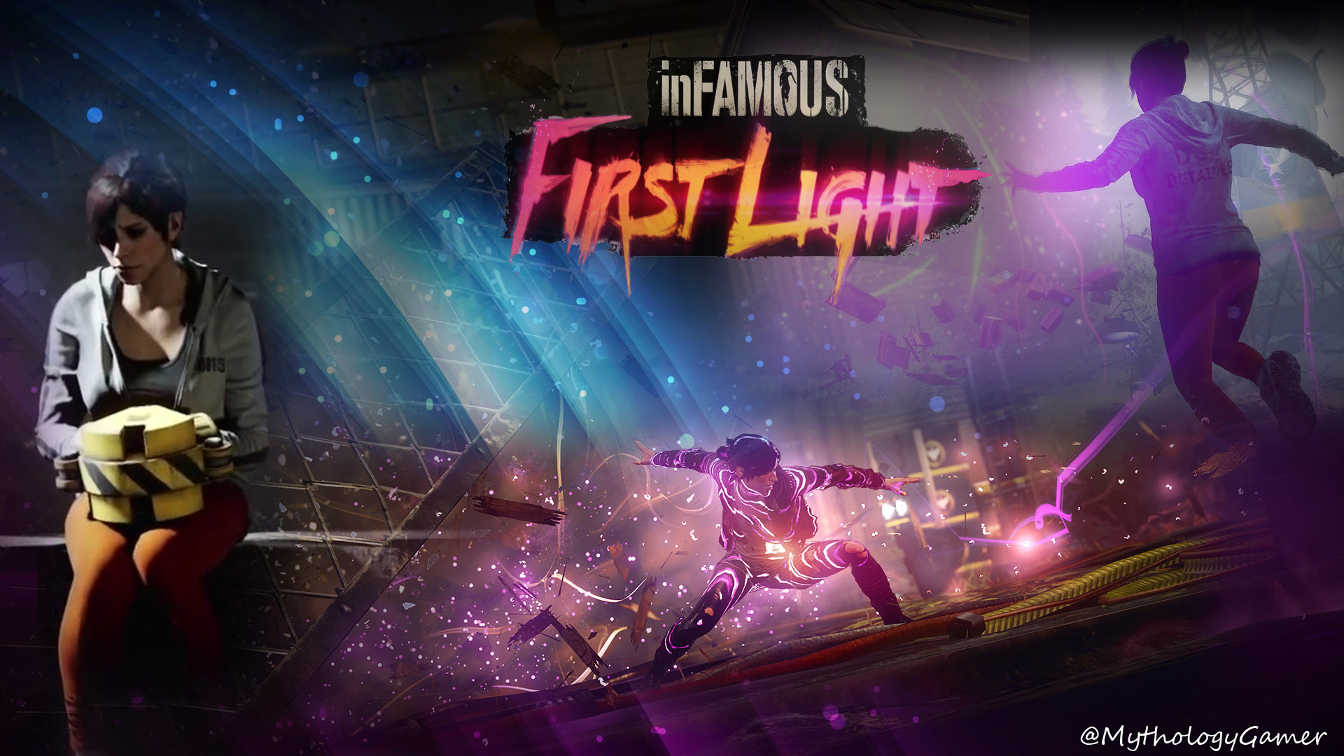 1920x1080 inFAMOUS: First Light HD Wallpapers