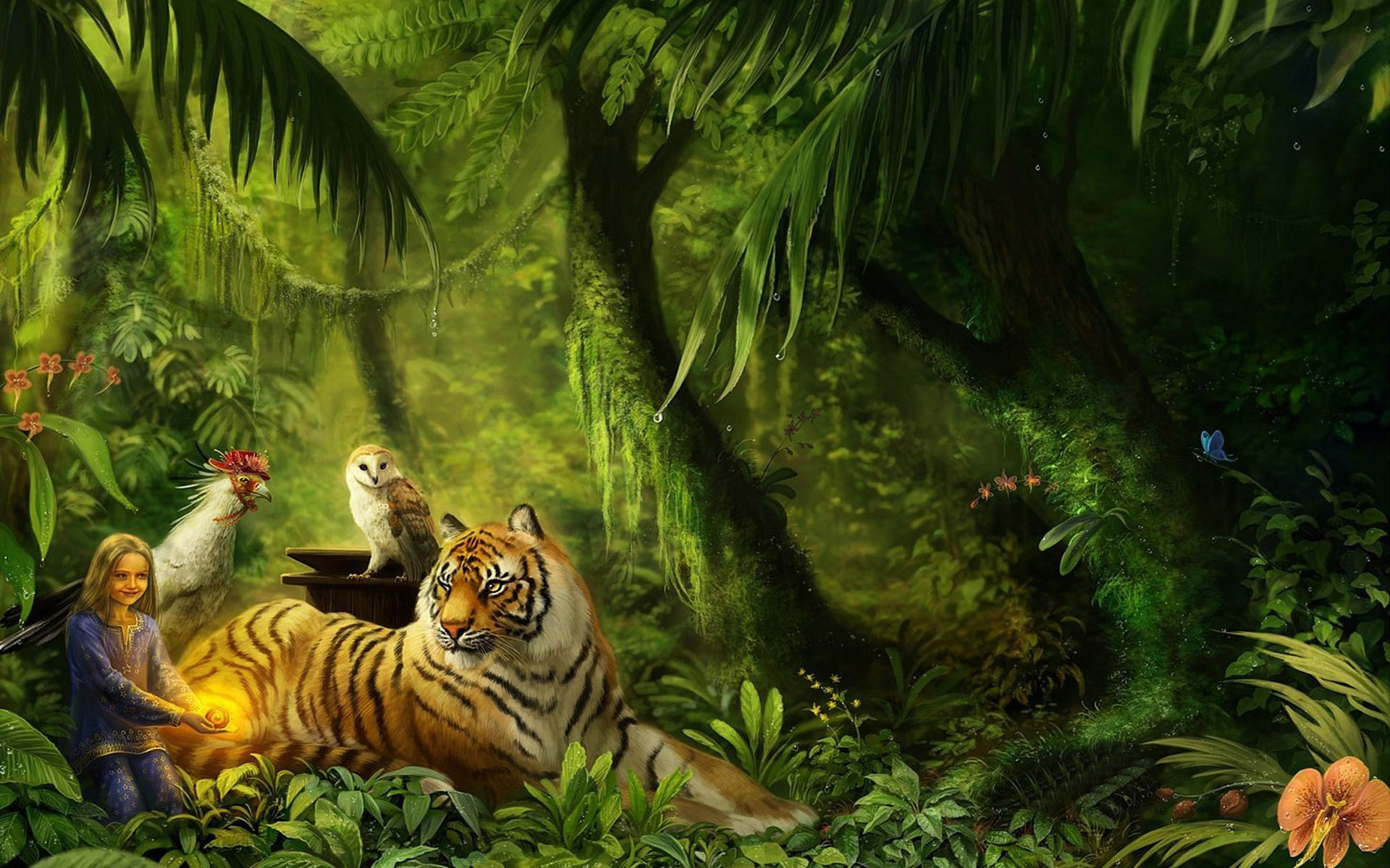 1920x1200 August 7 2015 By Stephen Comments Off on Jungle HD Animal Wallpapers