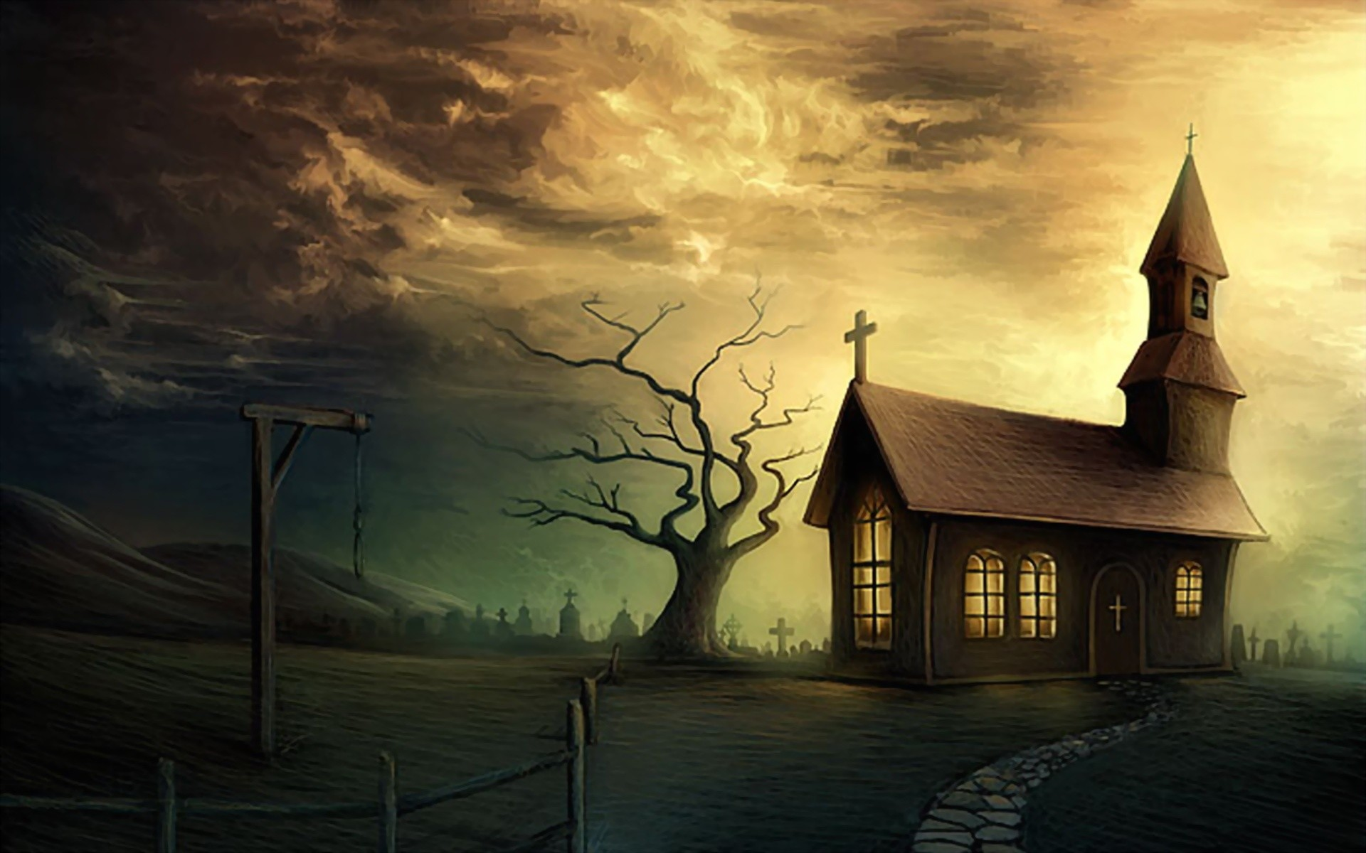 1920x1200 Download and View Full Size Photo. This Haunted House ...