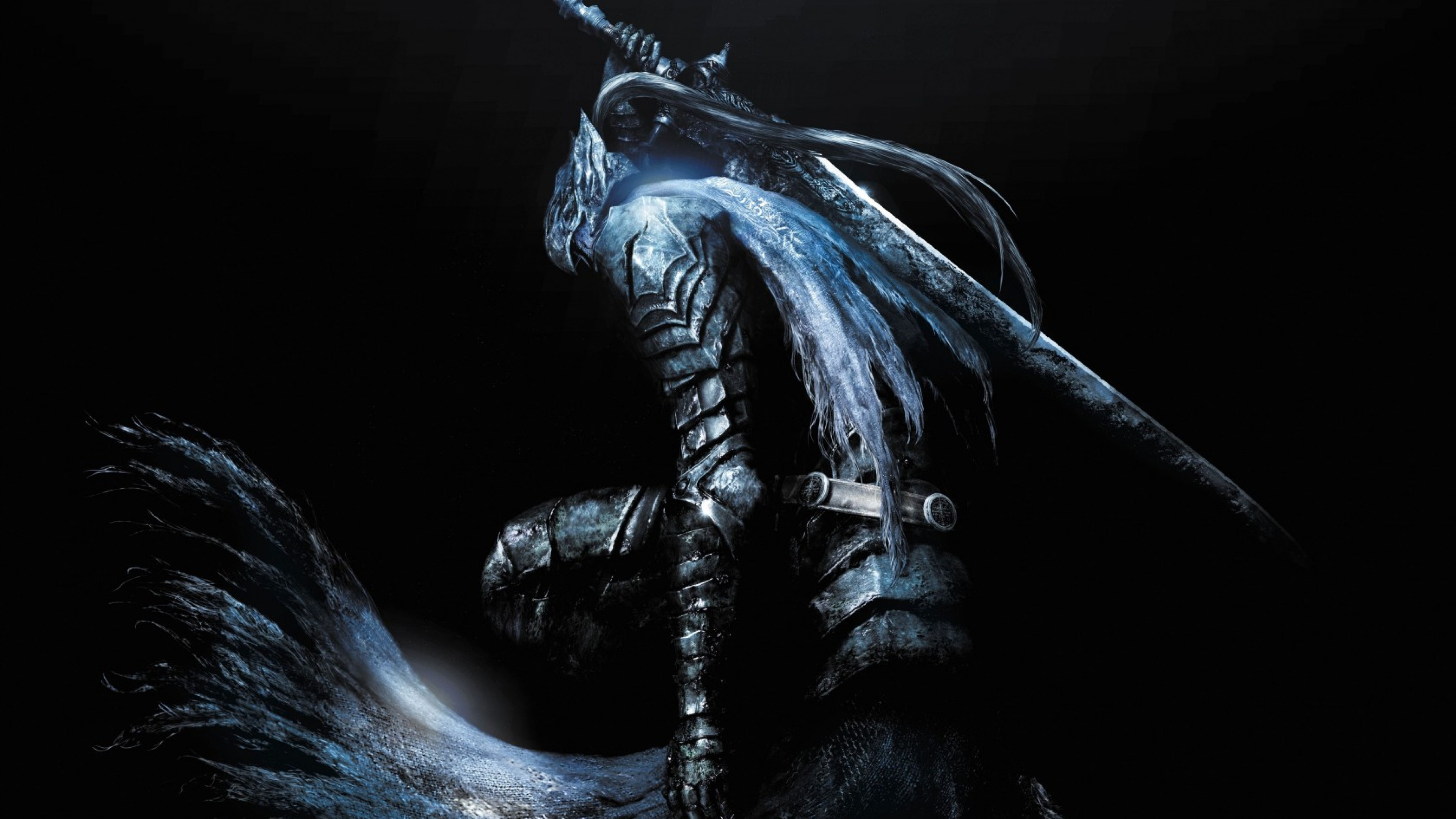 3840x2160 Preview wallpaper dark souls 3, pc game, art