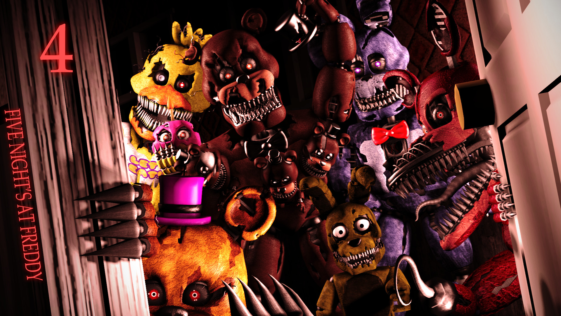 1920x1080 Five Nights at Freddys 4 2015 PC Game Free Download - Free Games Download