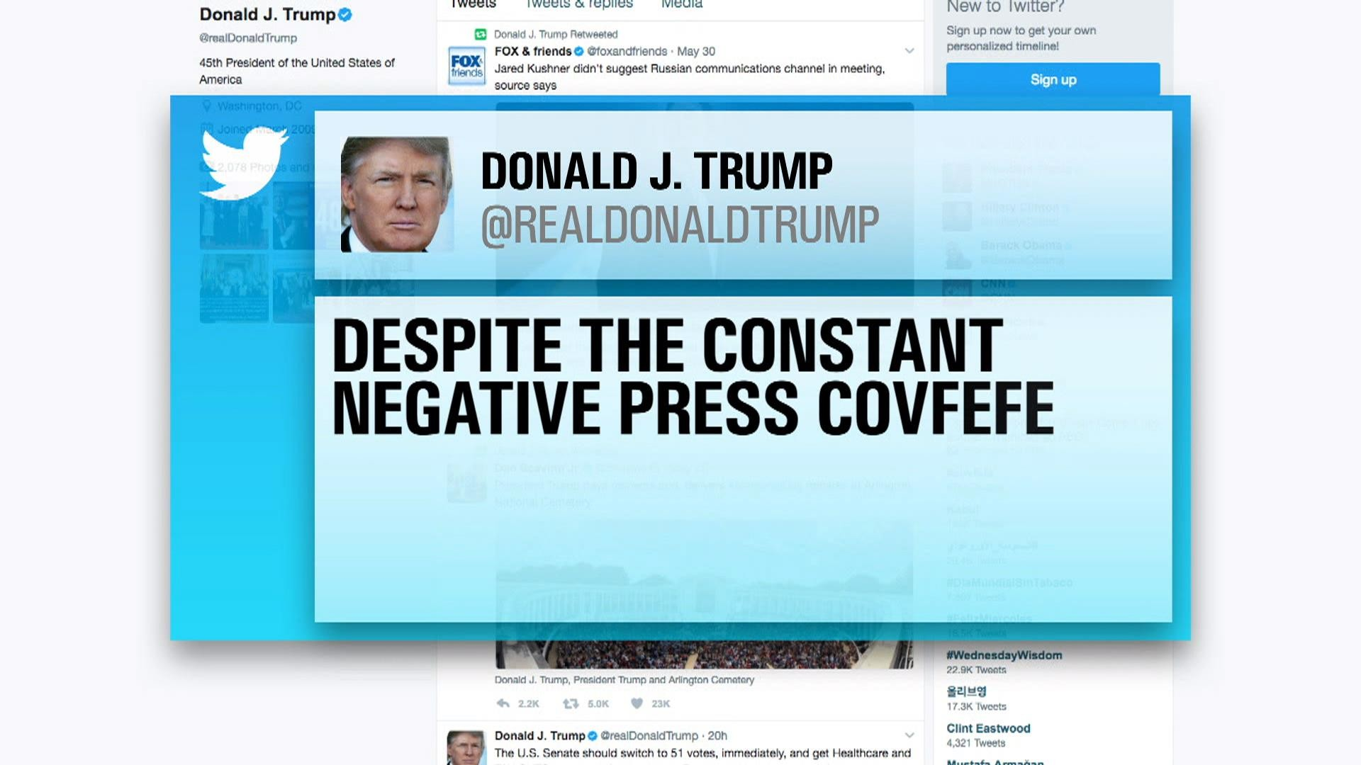 1920x1080 Trump's mystery 'covfefe' tweet sparks confusion: What does it mean? - NBC  News