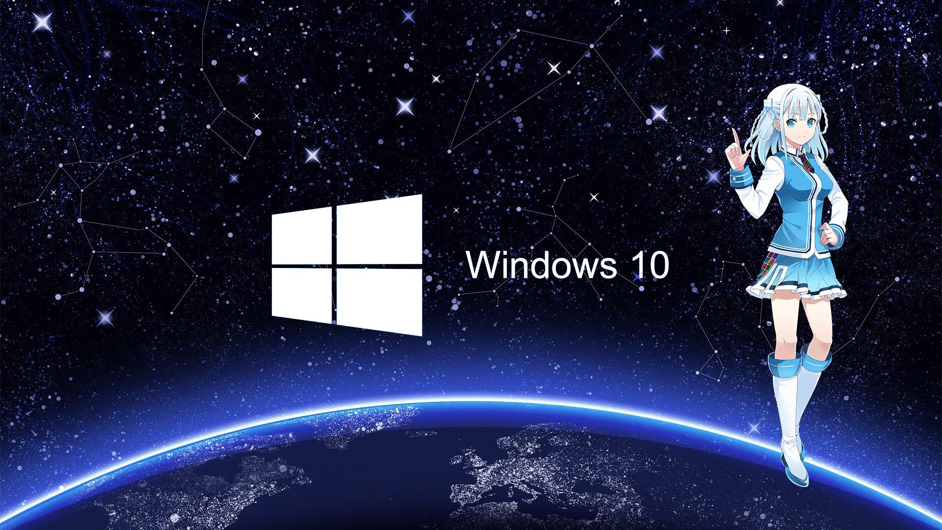 Windows space wallpaper hd