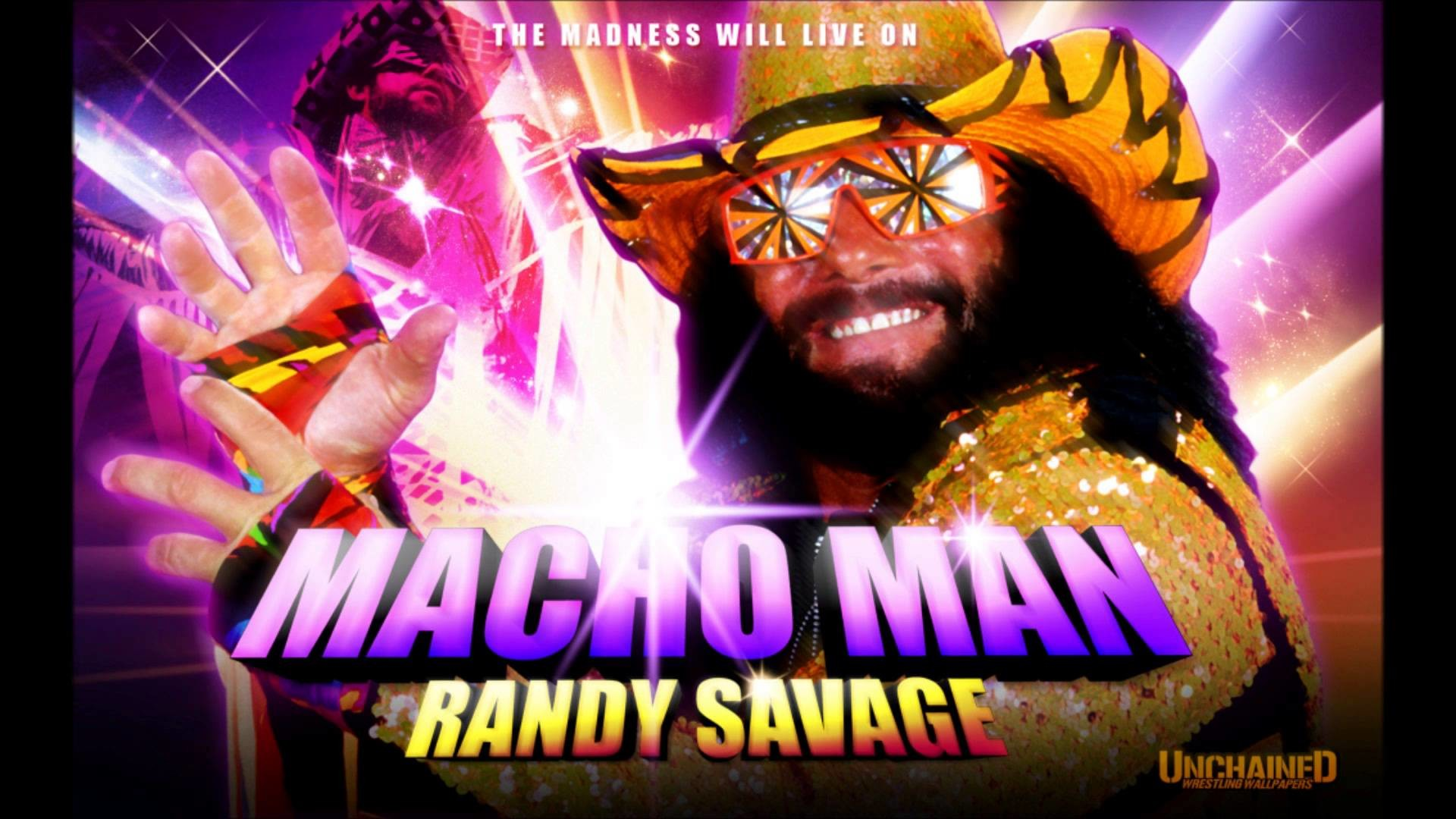 1920x1080 'Macho Man' Randy Savage - Pomp And Circumstance (Arena Effects)