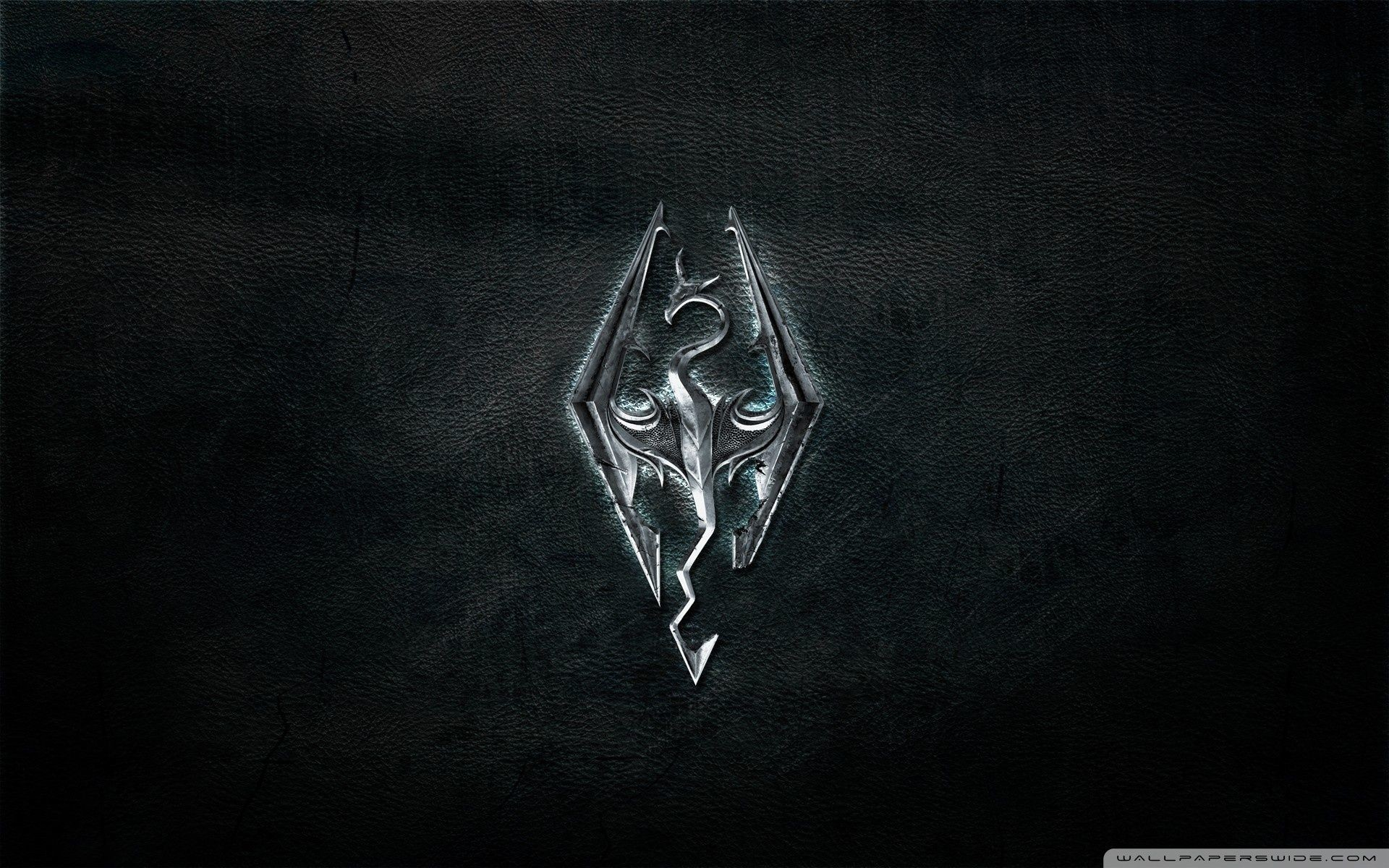 1920x1200 Skyrim Logo ❤ 4K HD Desktop Wallpaper for 4K Ultra HD TV • Tablet .