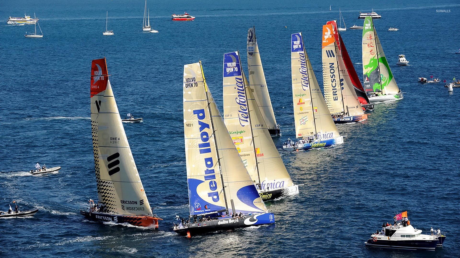 Racing Sailboat Wallpaper (67+ images)