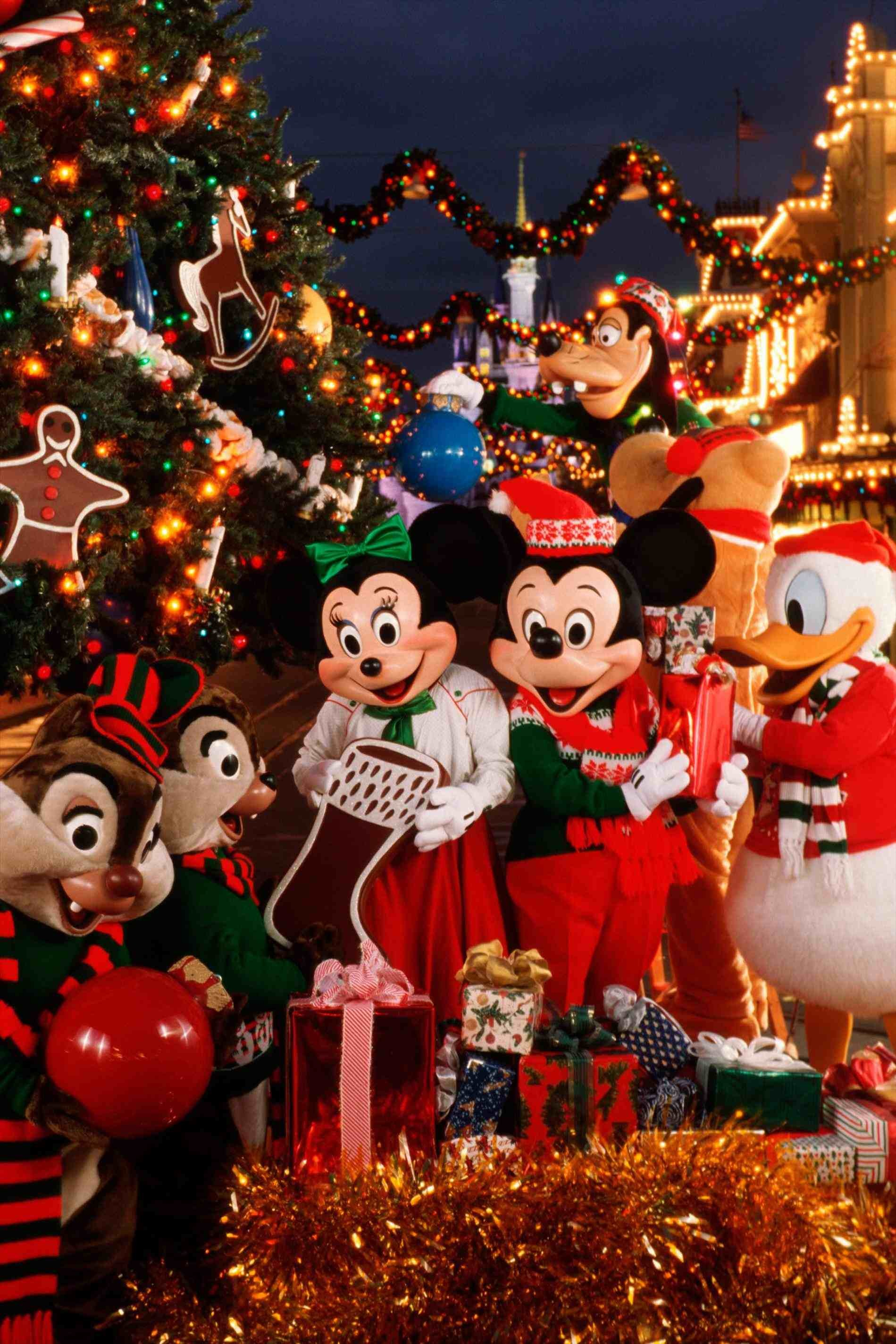 Mickey Christmas Wallpaper 63 Images