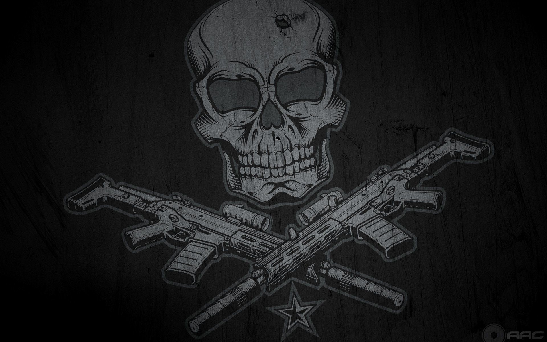 Skulls And Guns Tattoos: Skulls And Guns Wallpaper (59+ Images