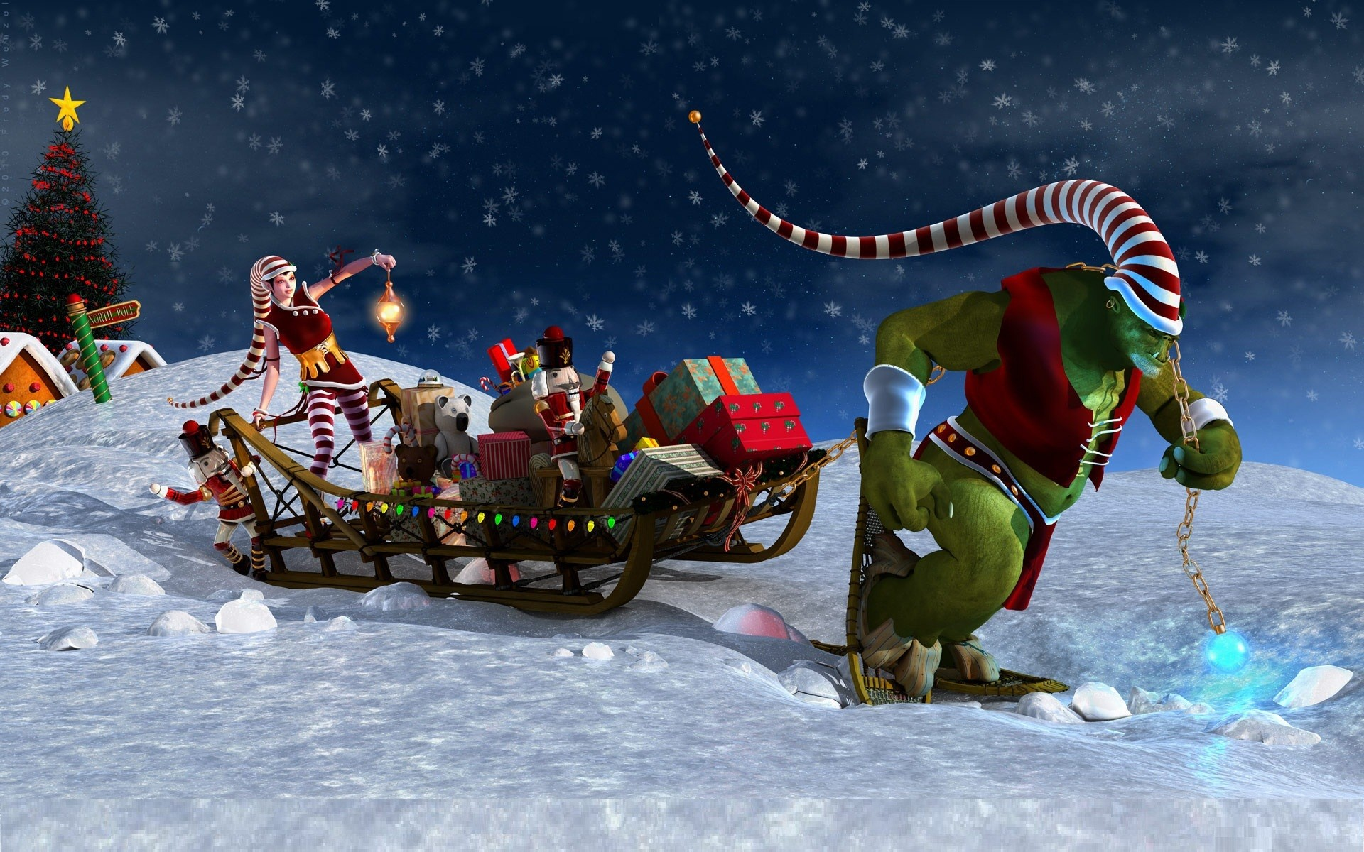 1920x1200 Animated Christmas Pictures | free animated christmas wallpapers , wallpaper, desktop, backgrounds .