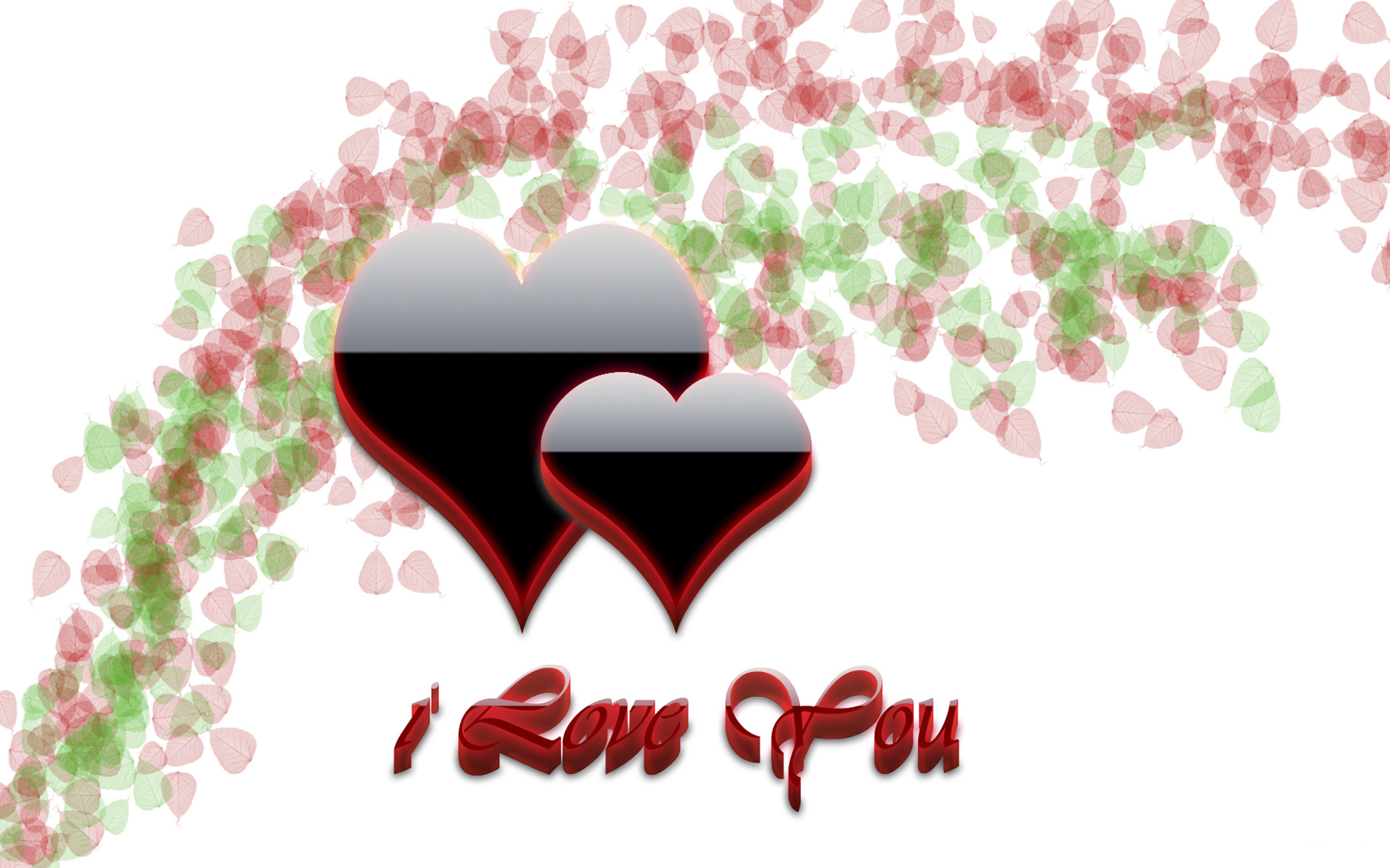 2560x1600 ... Images i love you heart wallpaper 3d hd » Wallppapers Gallery ...