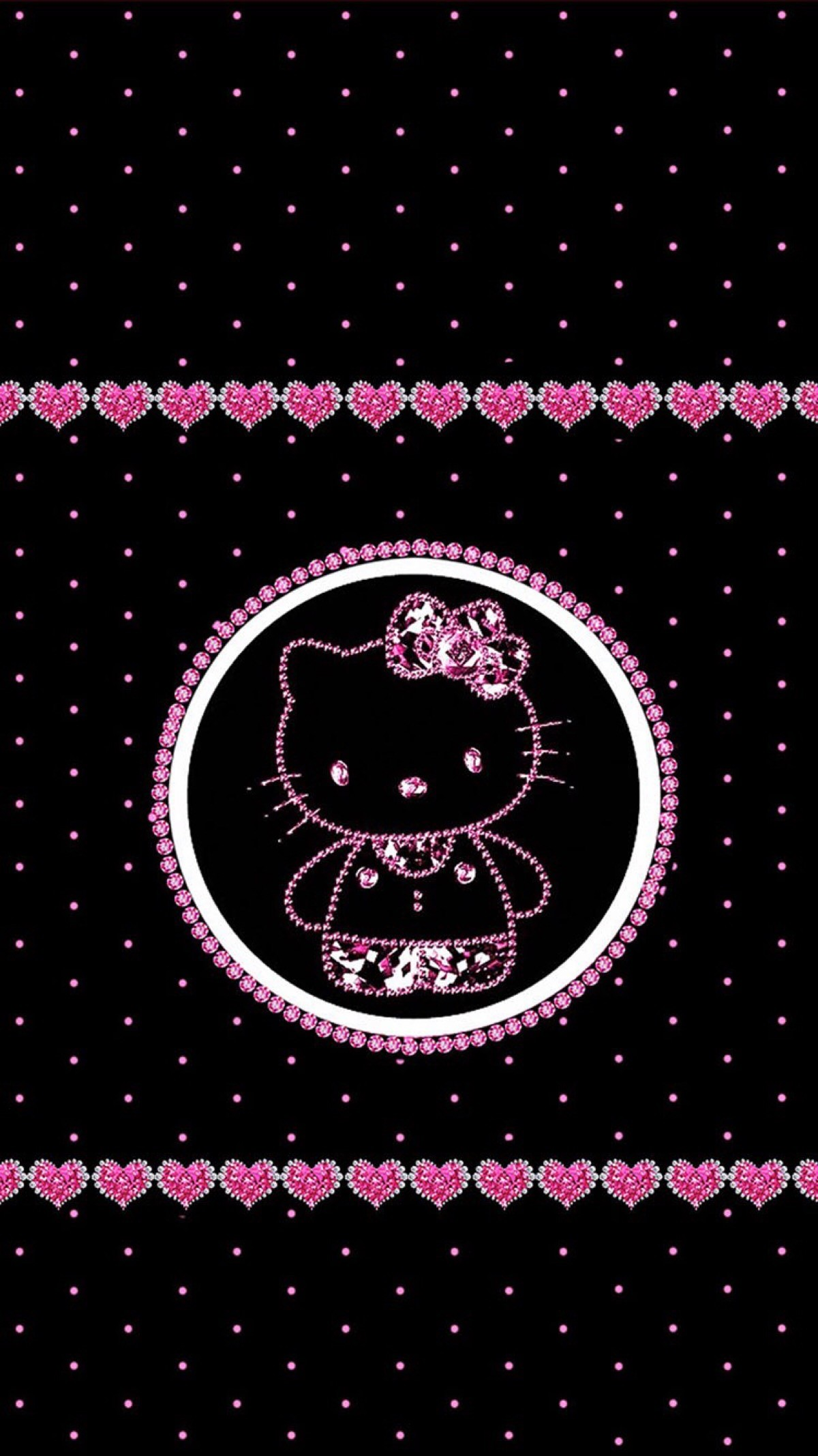 hello kitty black and pink wallpaper 60 images