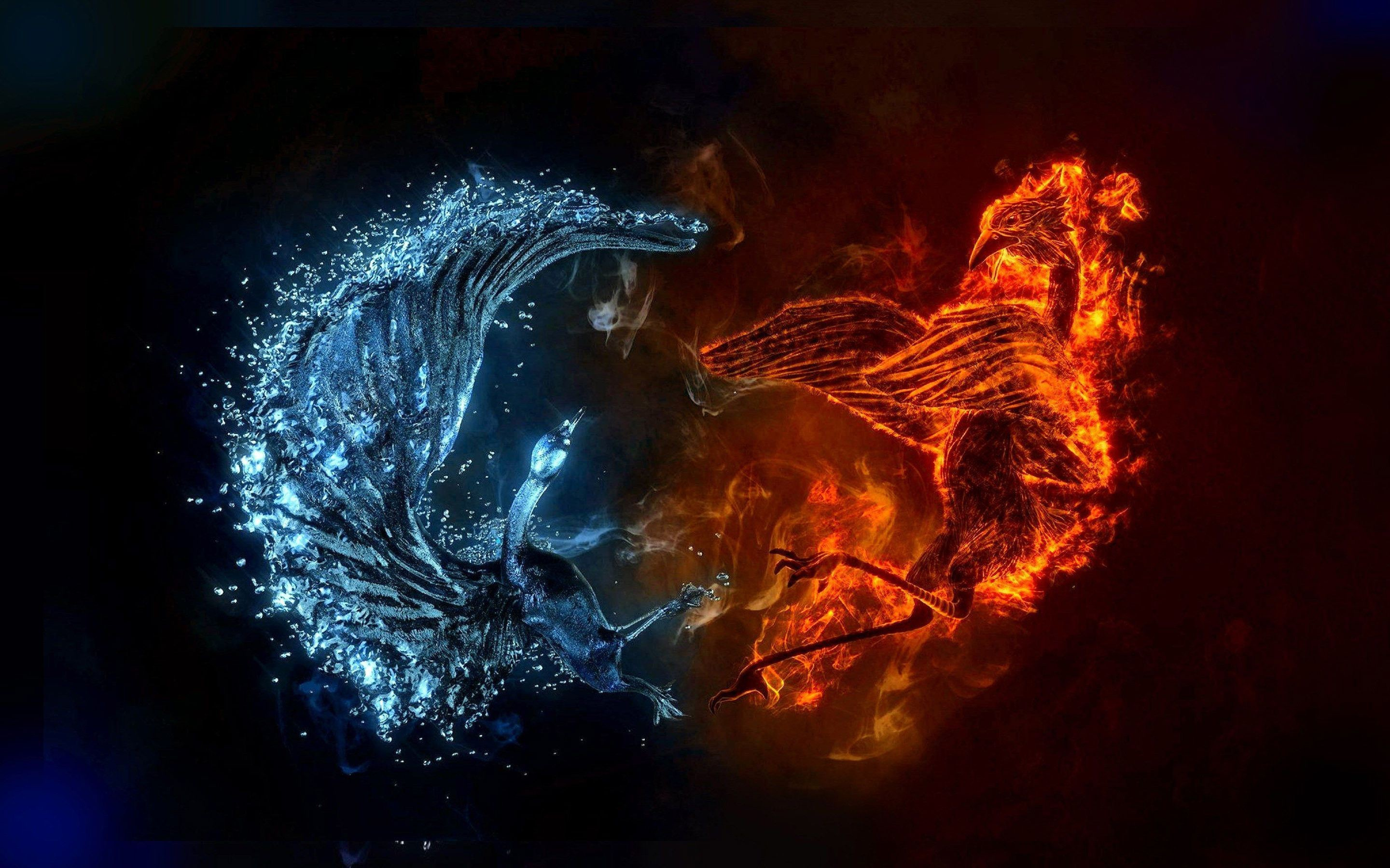 Cool Fire And Water Wallpaper 71 Images
