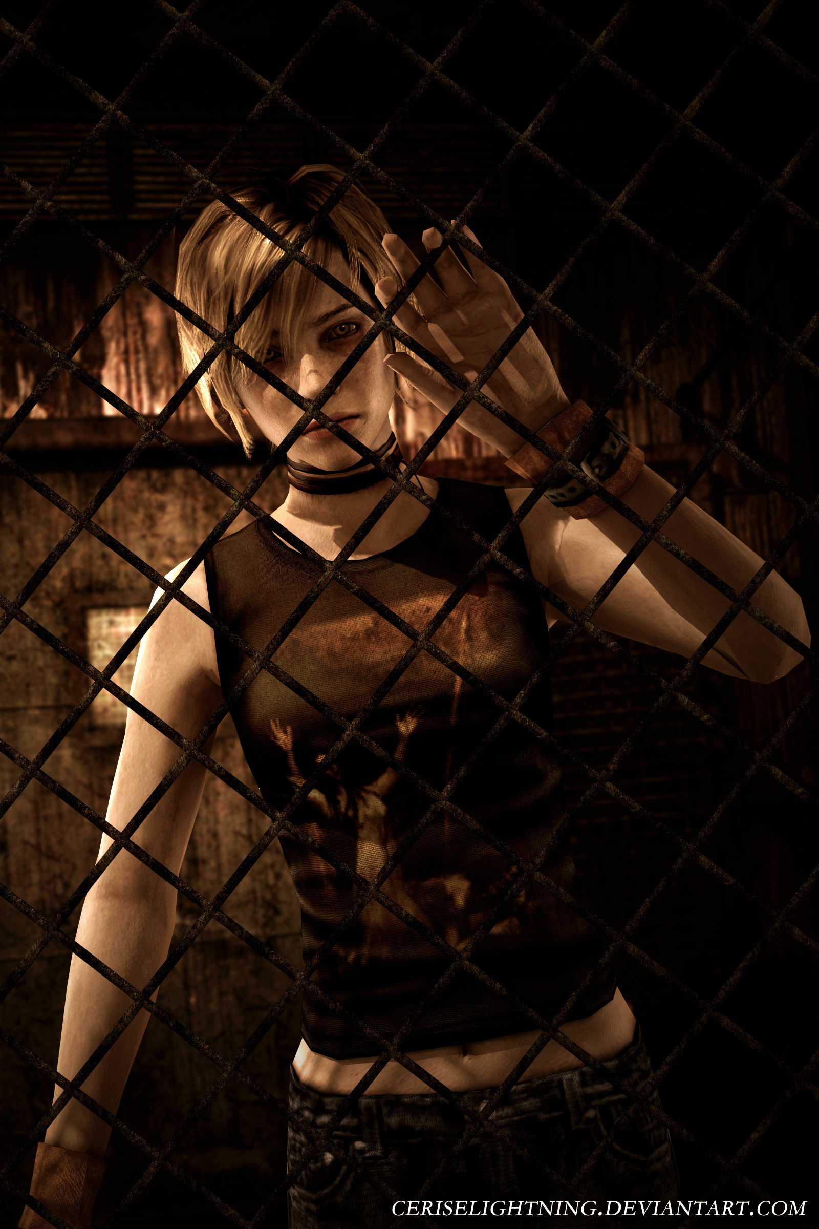 1600x2400 Silent Hill 3 Trapped by ceriselightning